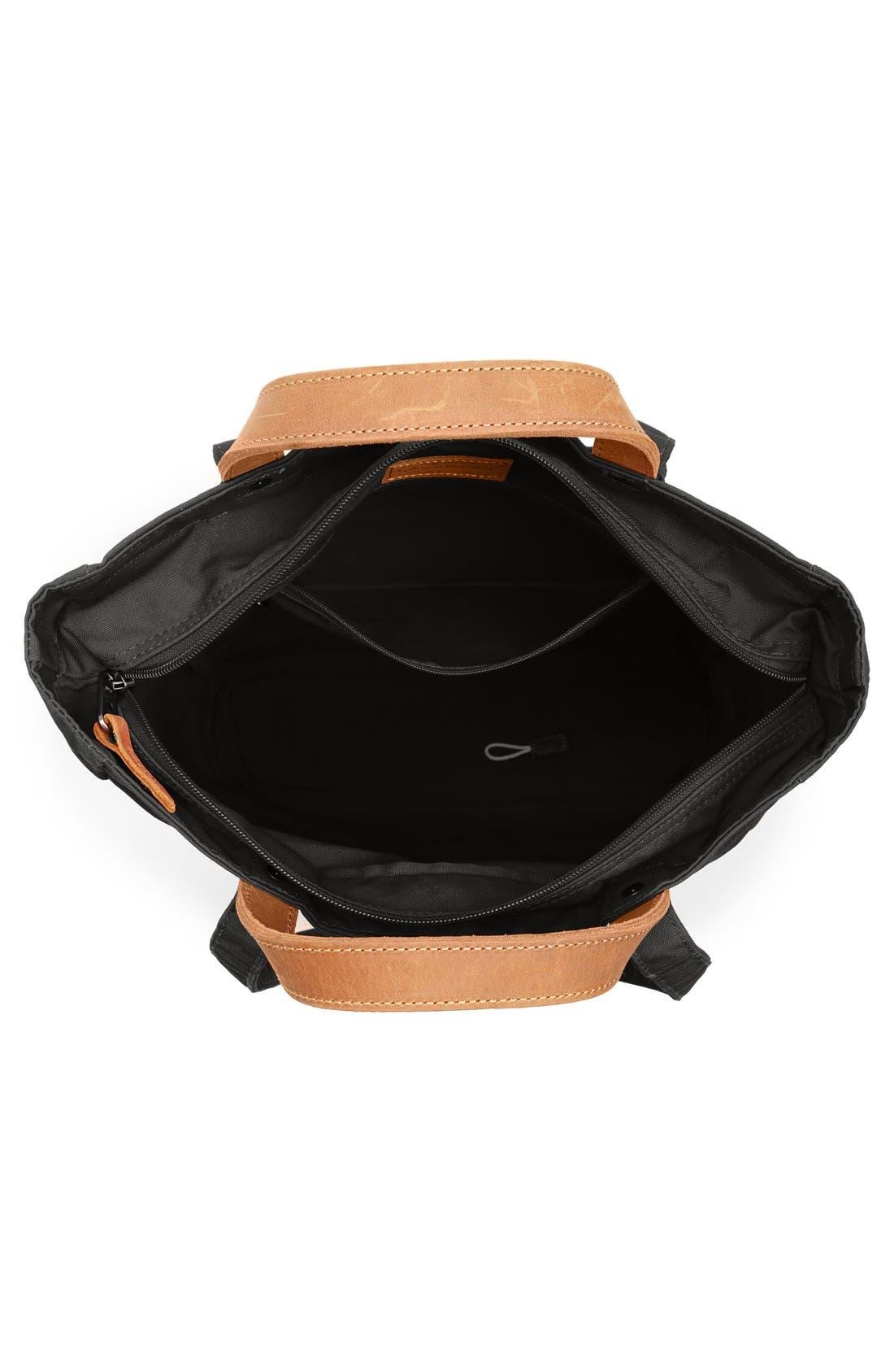 'Totepack No.1' Water Resistant Tote,                             Alternate thumbnail 5, color,                             BLACK