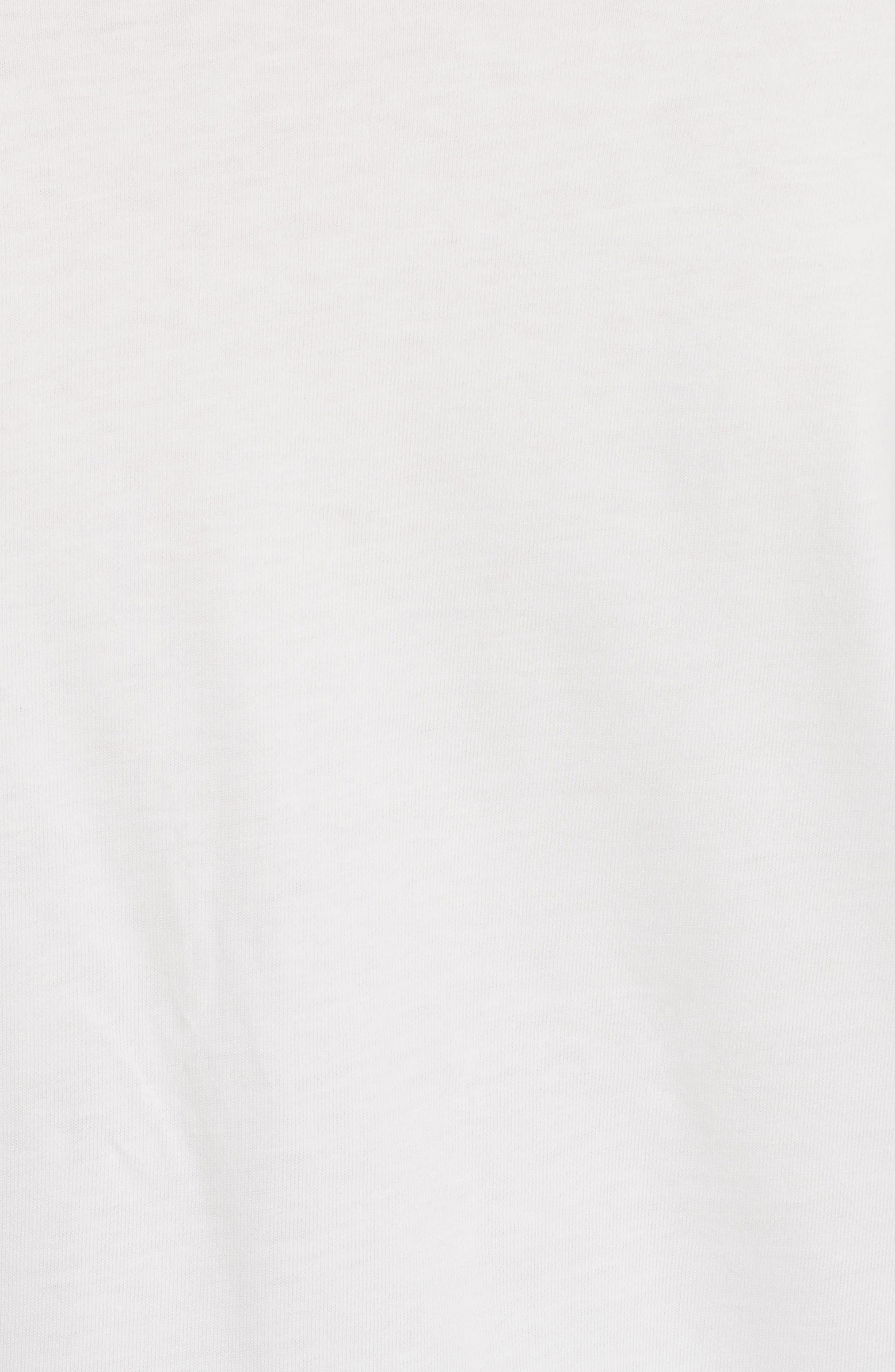 Stitched Cotton Top,                             Alternate thumbnail 5, color,