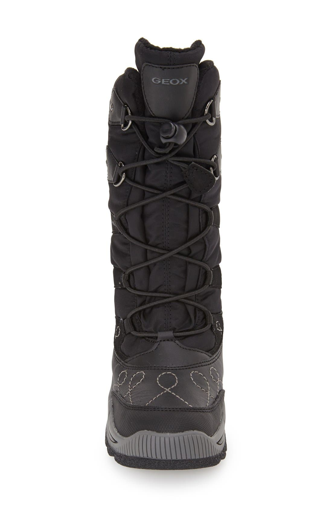 'Overland ABX' Waterproof Boot,                             Alternate thumbnail 3, color,                             001