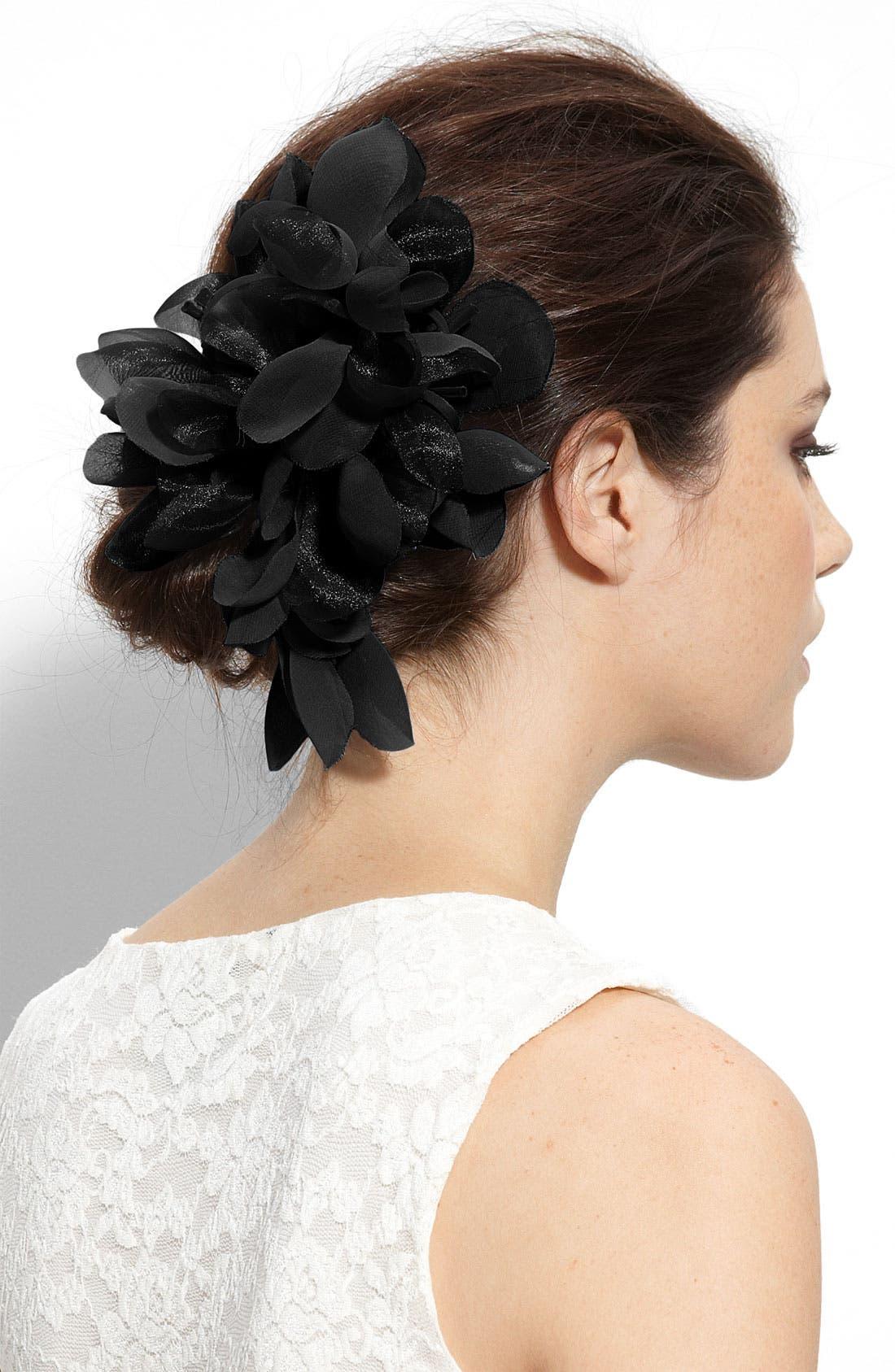 CARA,                             'Tropical Flower' Hair Clip,                             Main thumbnail 1, color,                             001