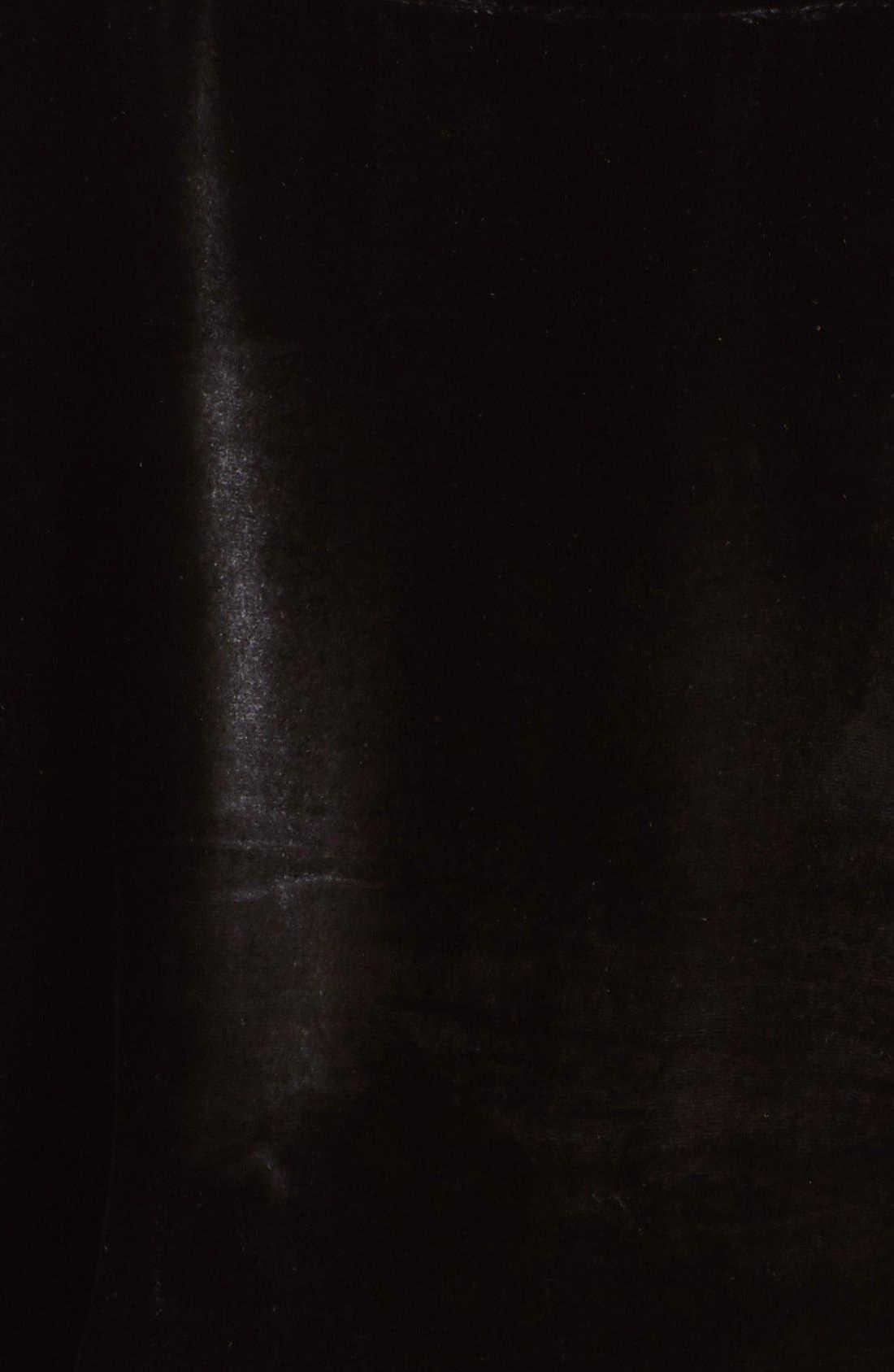 Velvet Victorian Blouse,                             Alternate thumbnail 3, color,                             001