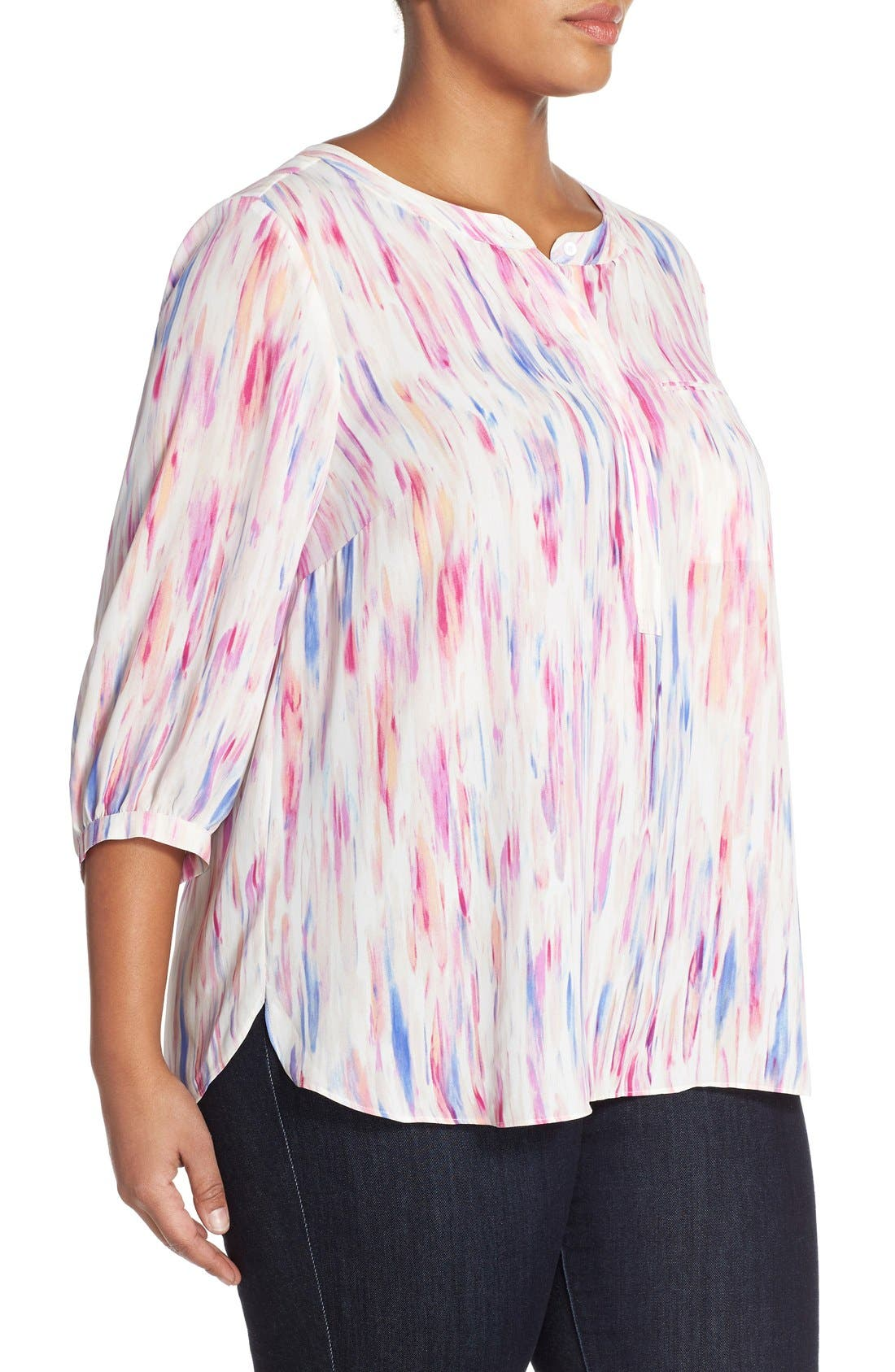 Henley Top,                             Alternate thumbnail 391, color,