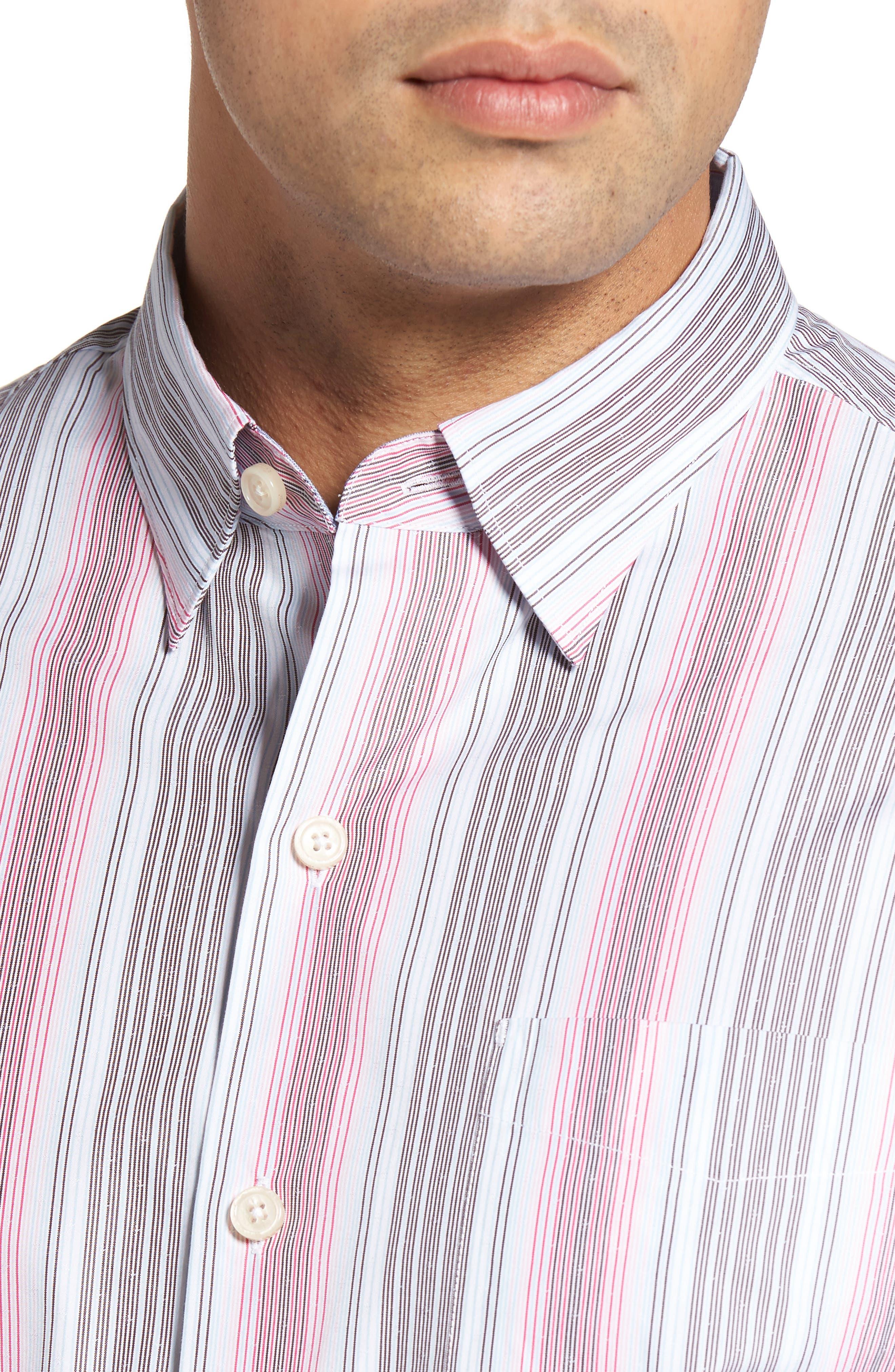 Roda Viva Original Fit Sport Shirt,                             Alternate thumbnail 5, color,                             400