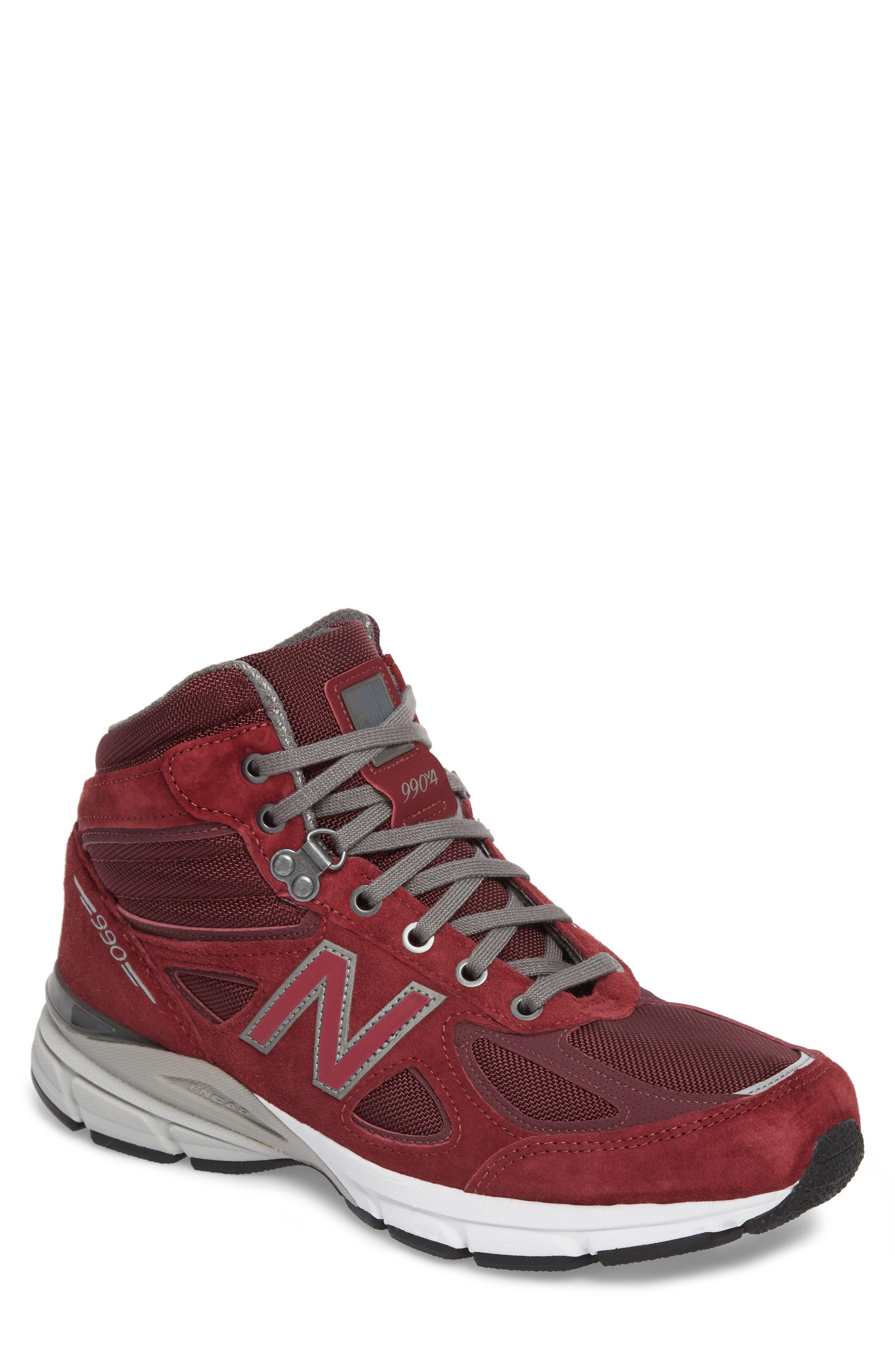 990v4 Water Resistant Sneaker Boot,                         Main,                         color, 932