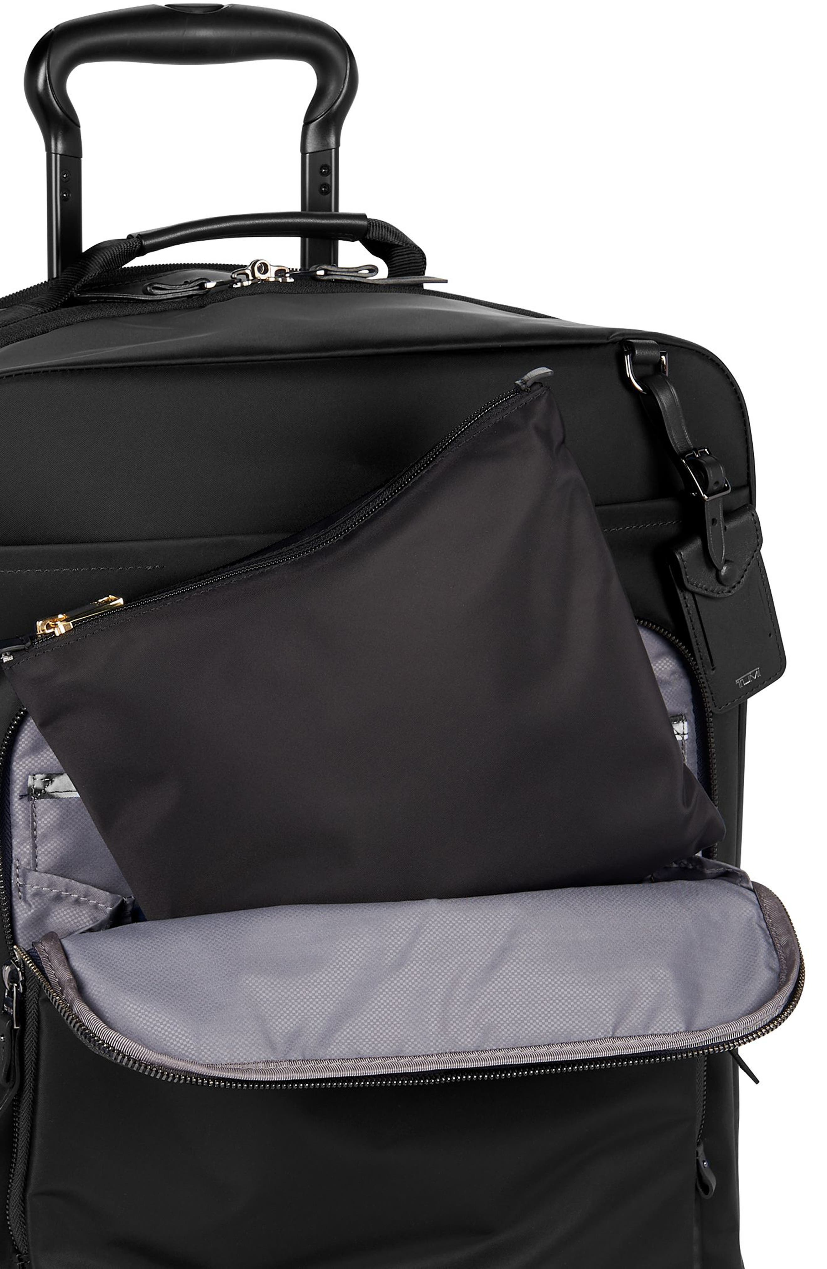 TUMI,                             Voyageur - Just in Case Nylon Travel Backpack,                             Alternate thumbnail 5, color,                             001