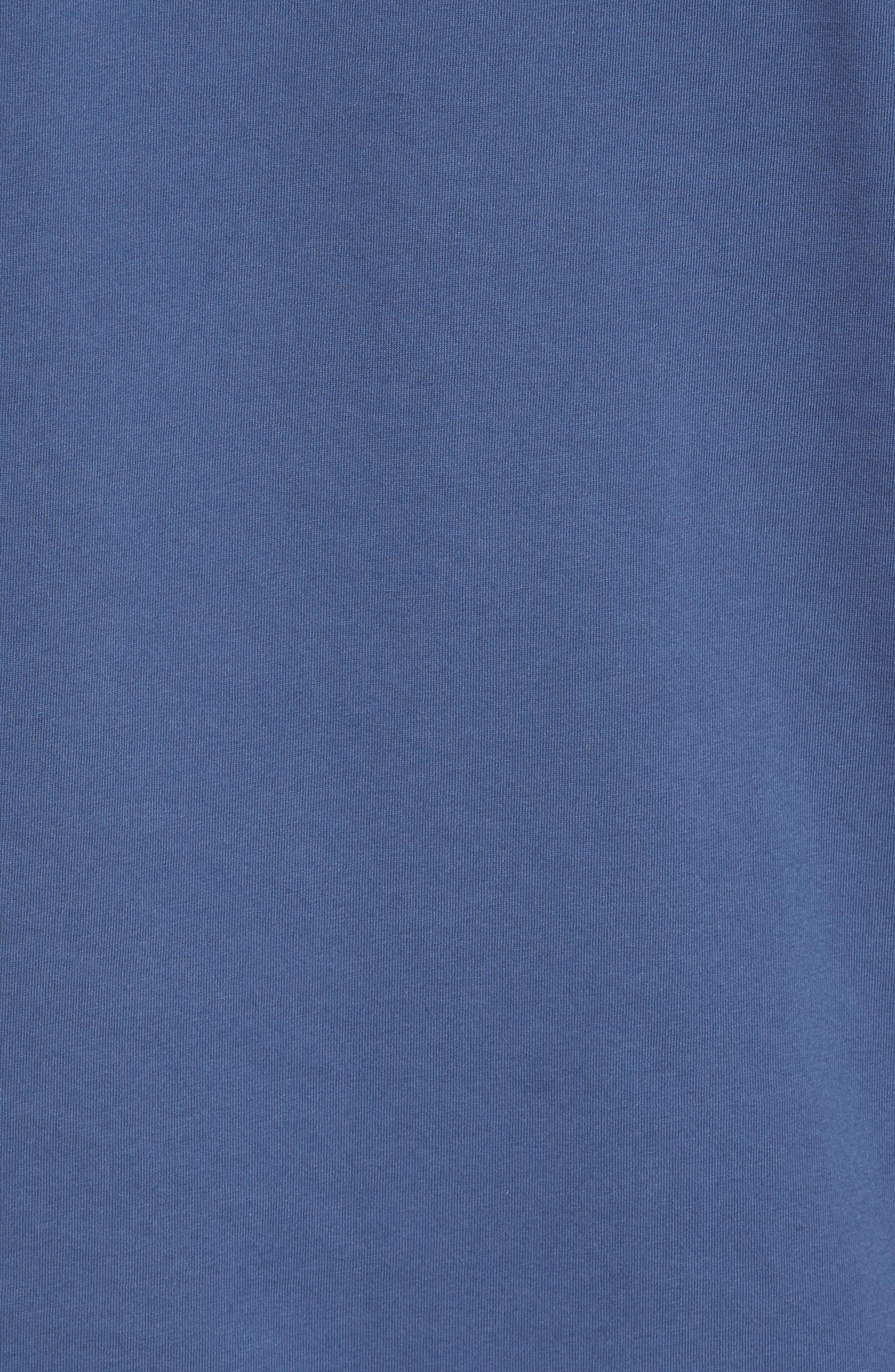 Bahamas Whale Crewneck Cotton T-Shirt,                             Alternate thumbnail 5, color,                             461
