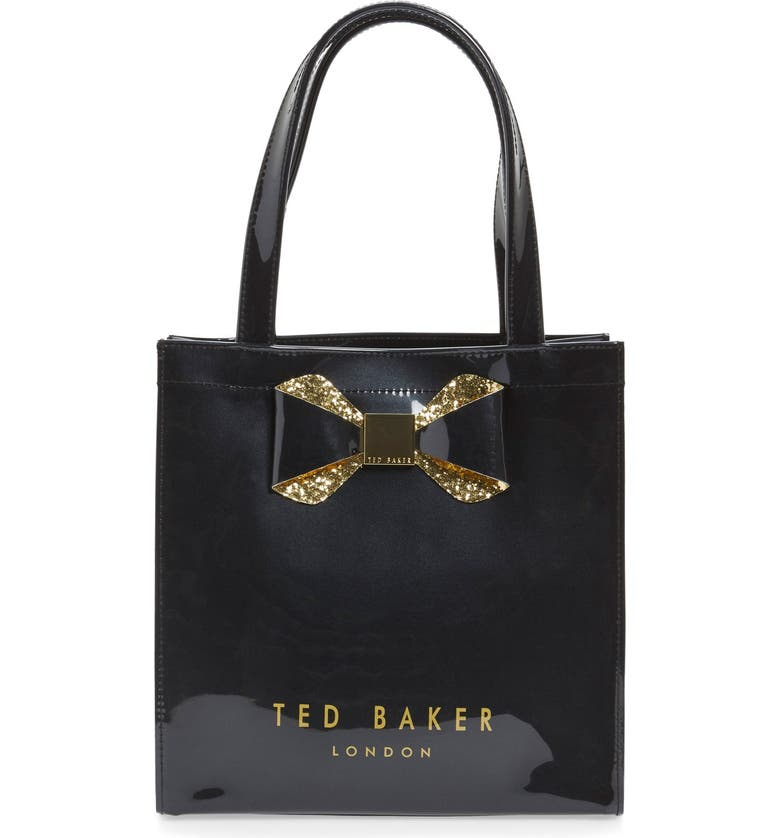 35a5fbe46ee6e1 Ted Baker London  Small Glitter Bow Icon  Tote