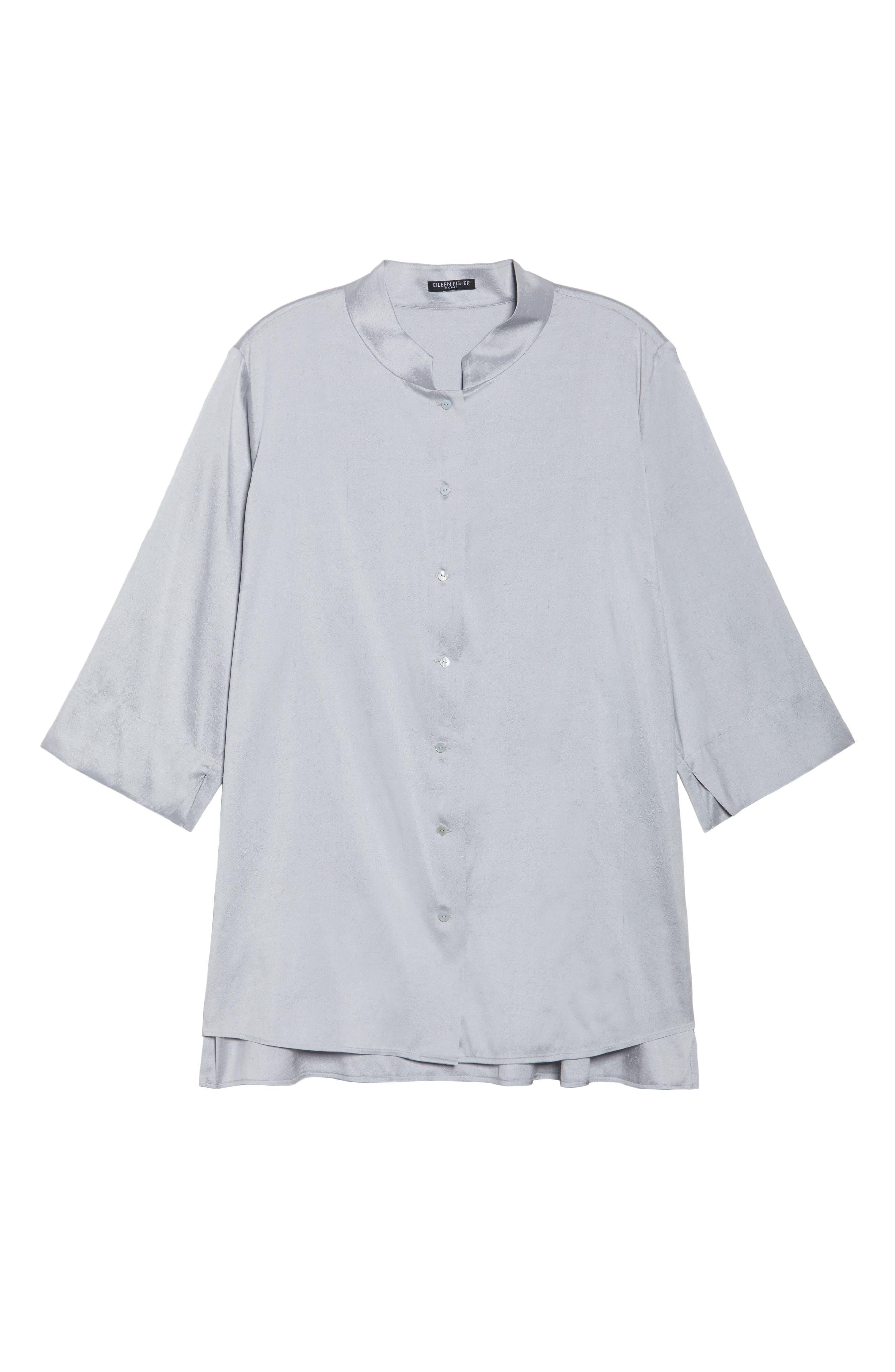 Notch Collar Shirt,                             Alternate thumbnail 11, color,