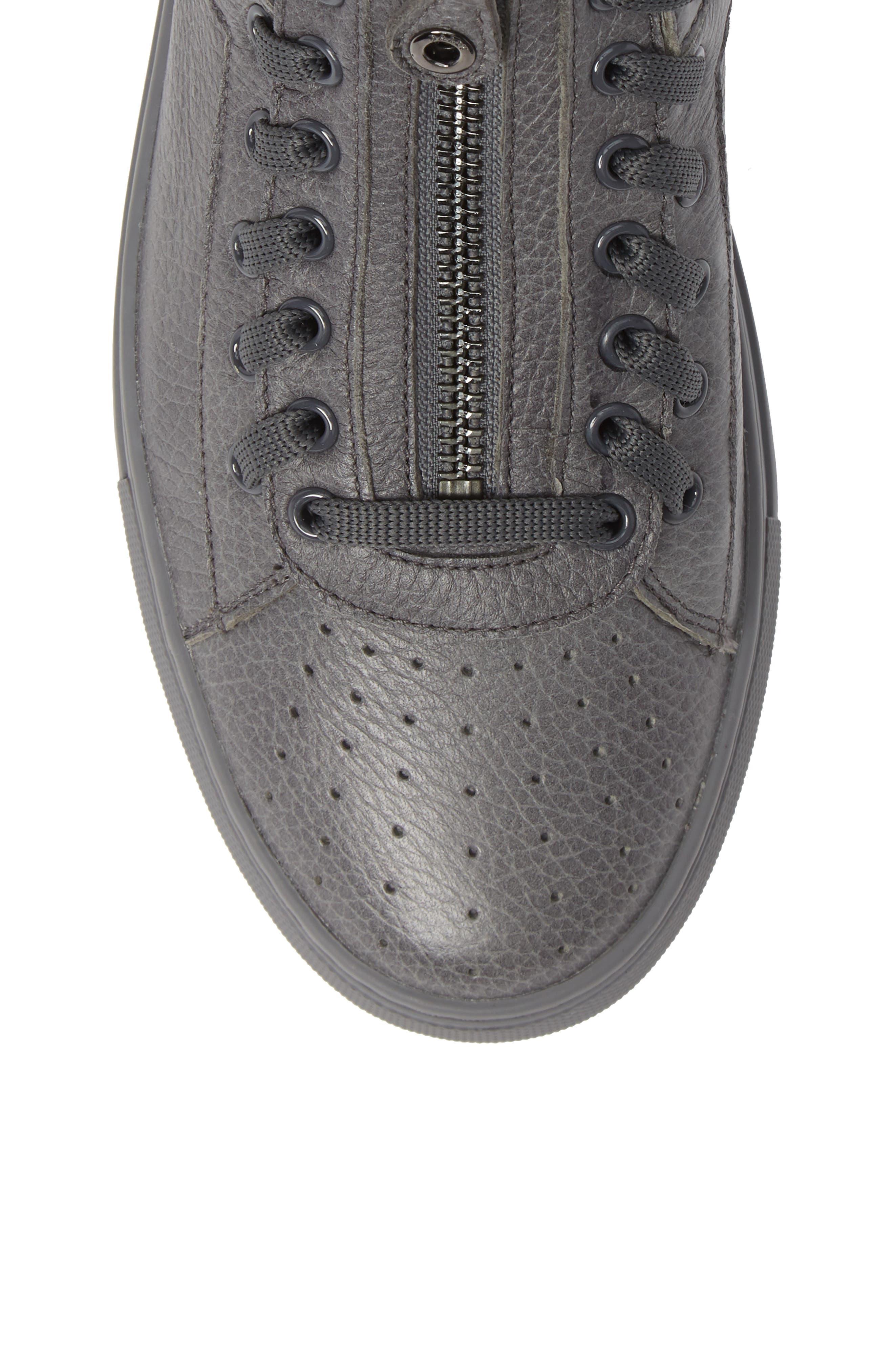 Hekem High-Top Sneaker,                             Alternate thumbnail 5, color,                             GARCONE GREY