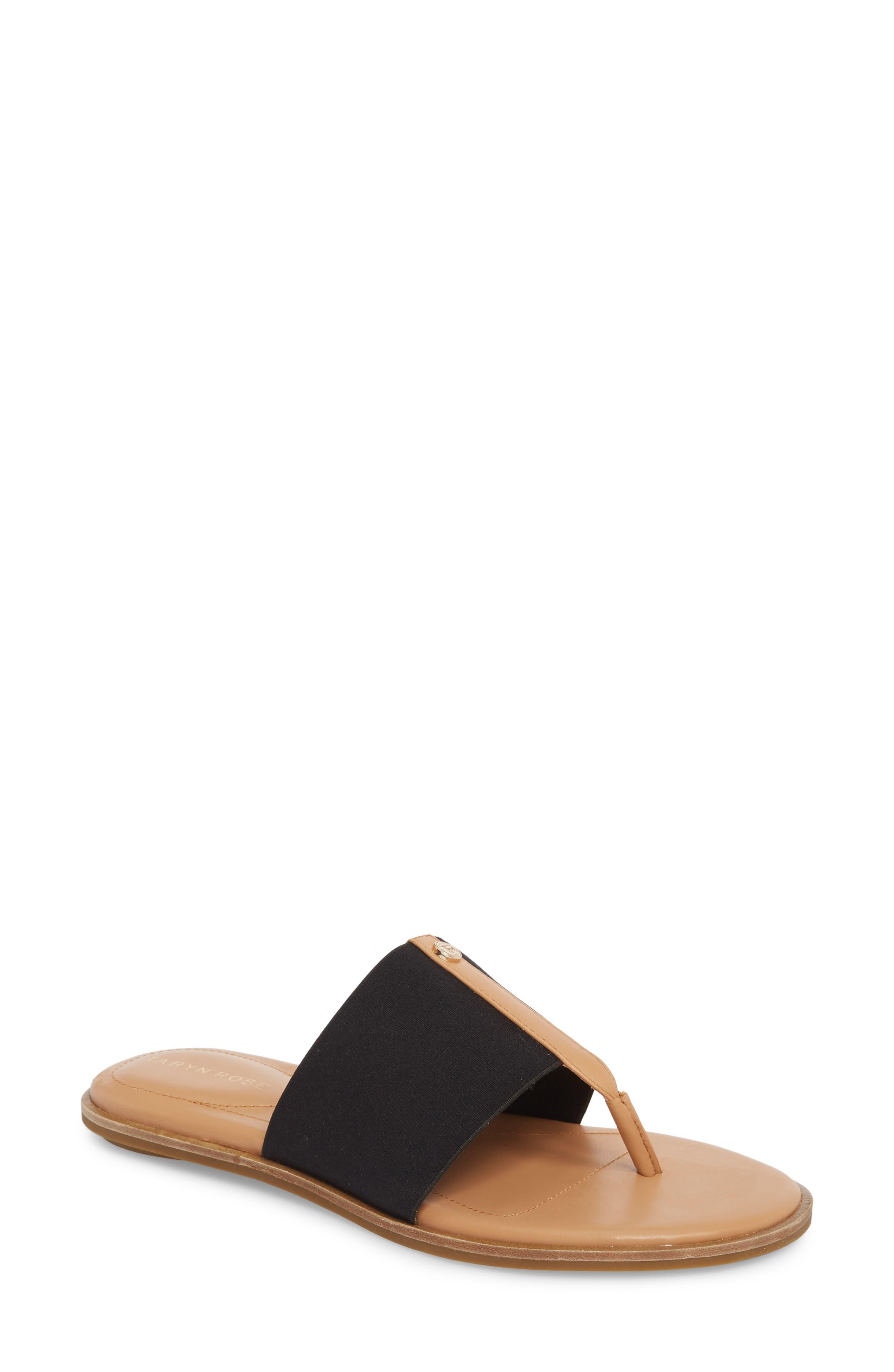 Kamryn Flip Flop,                         Main,                         color, BLACK LEATHER