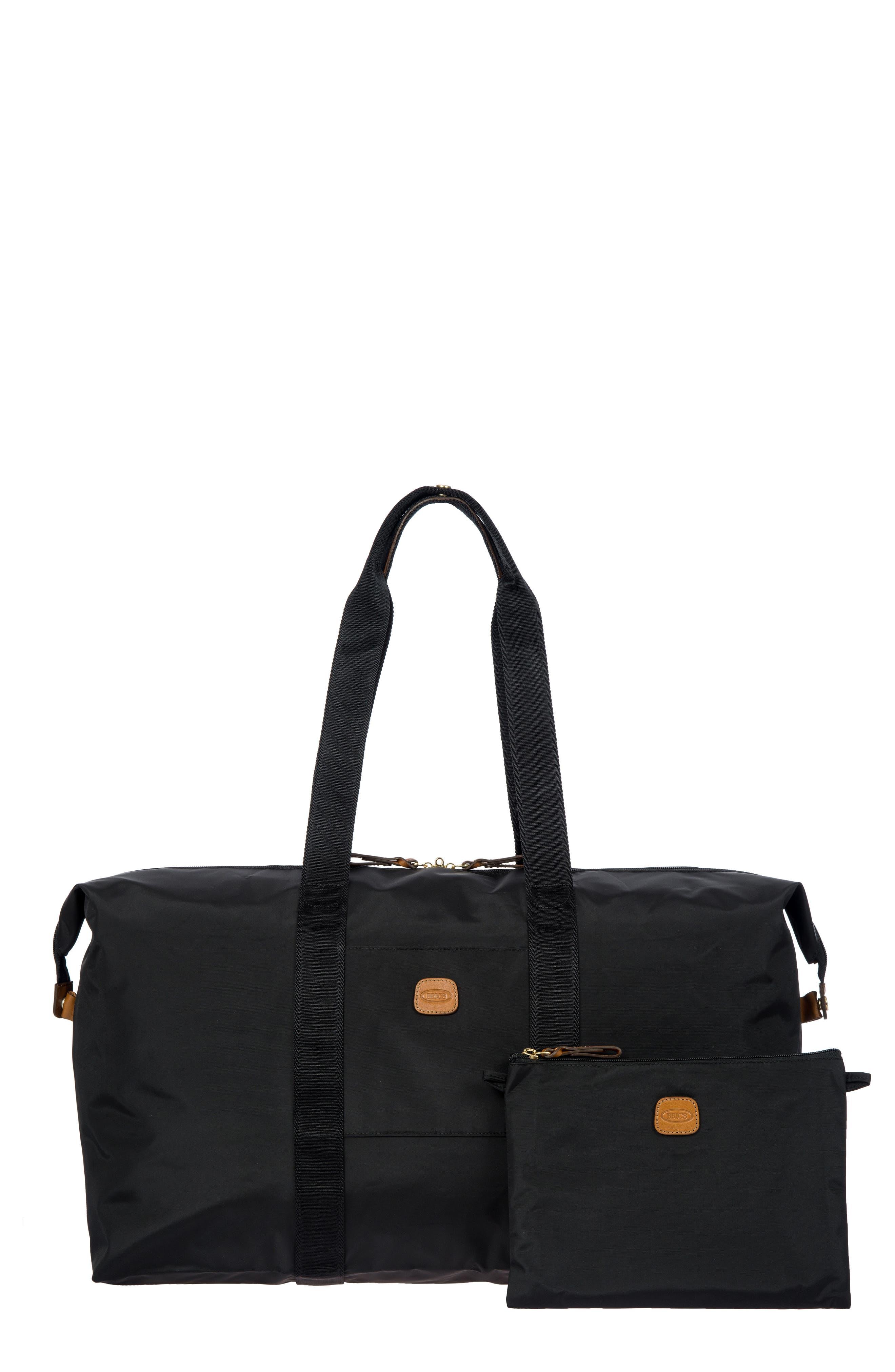 X-Bag 22-Inch Folding Duffel Bag,                             Main thumbnail 1, color,                             BLACK