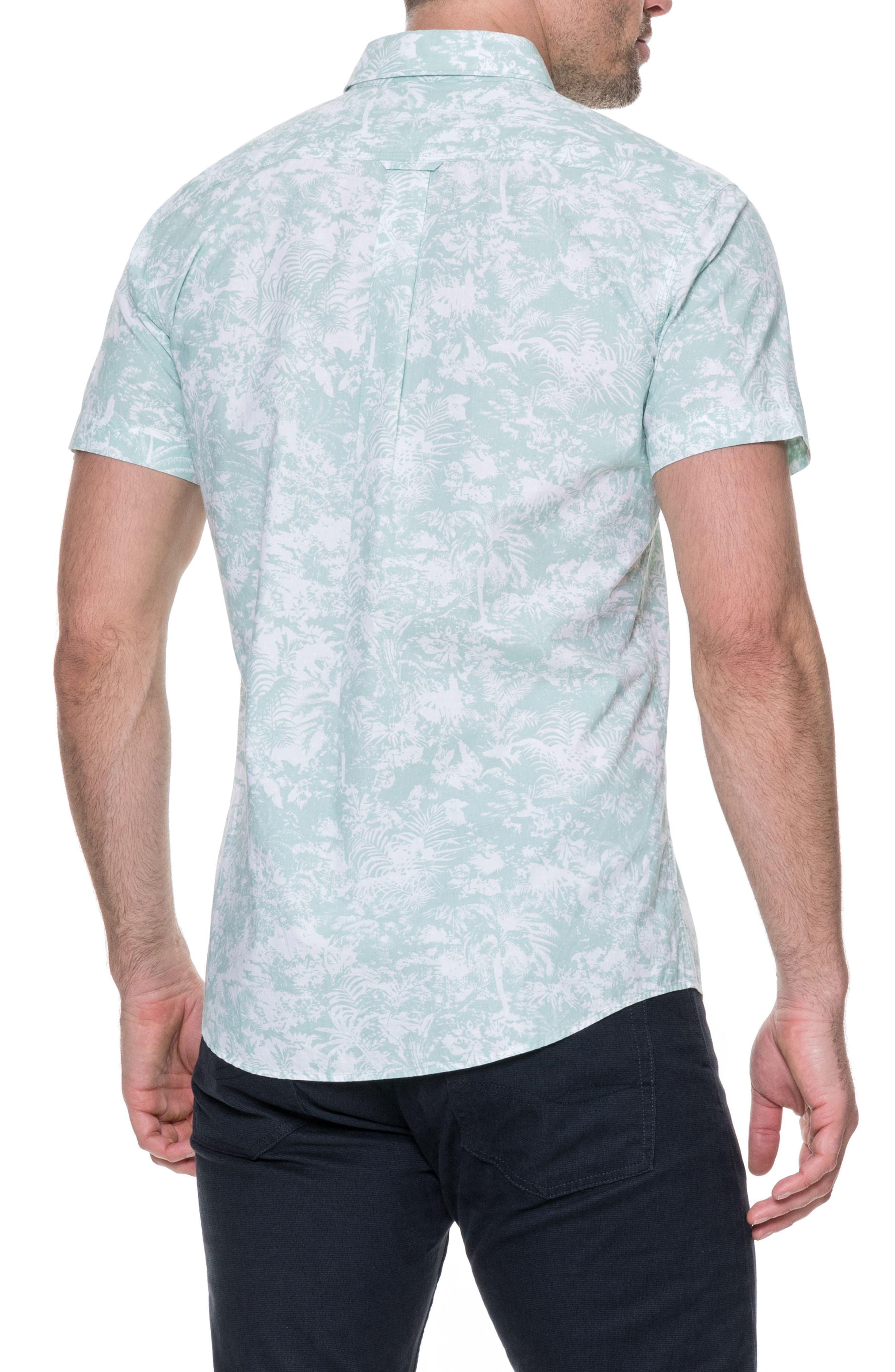 Redcastle Regular Fit Sport Shirt,                             Alternate thumbnail 2, color,                             POWDER BLUE