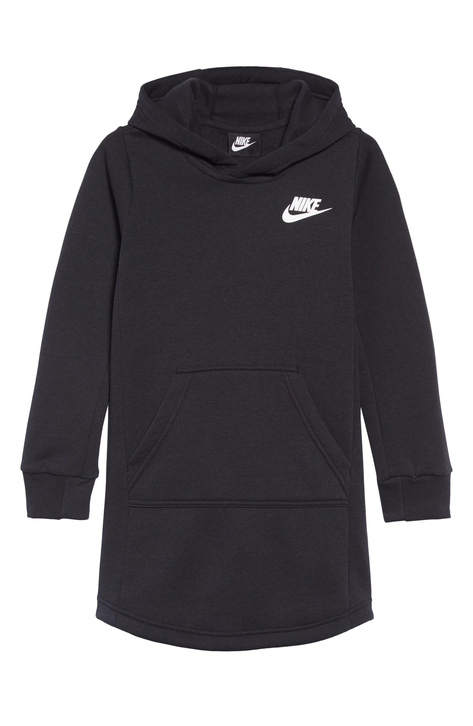 11166a44d233 Nike Sportswear Hooded Sweatshirt Dress (Big Girls)