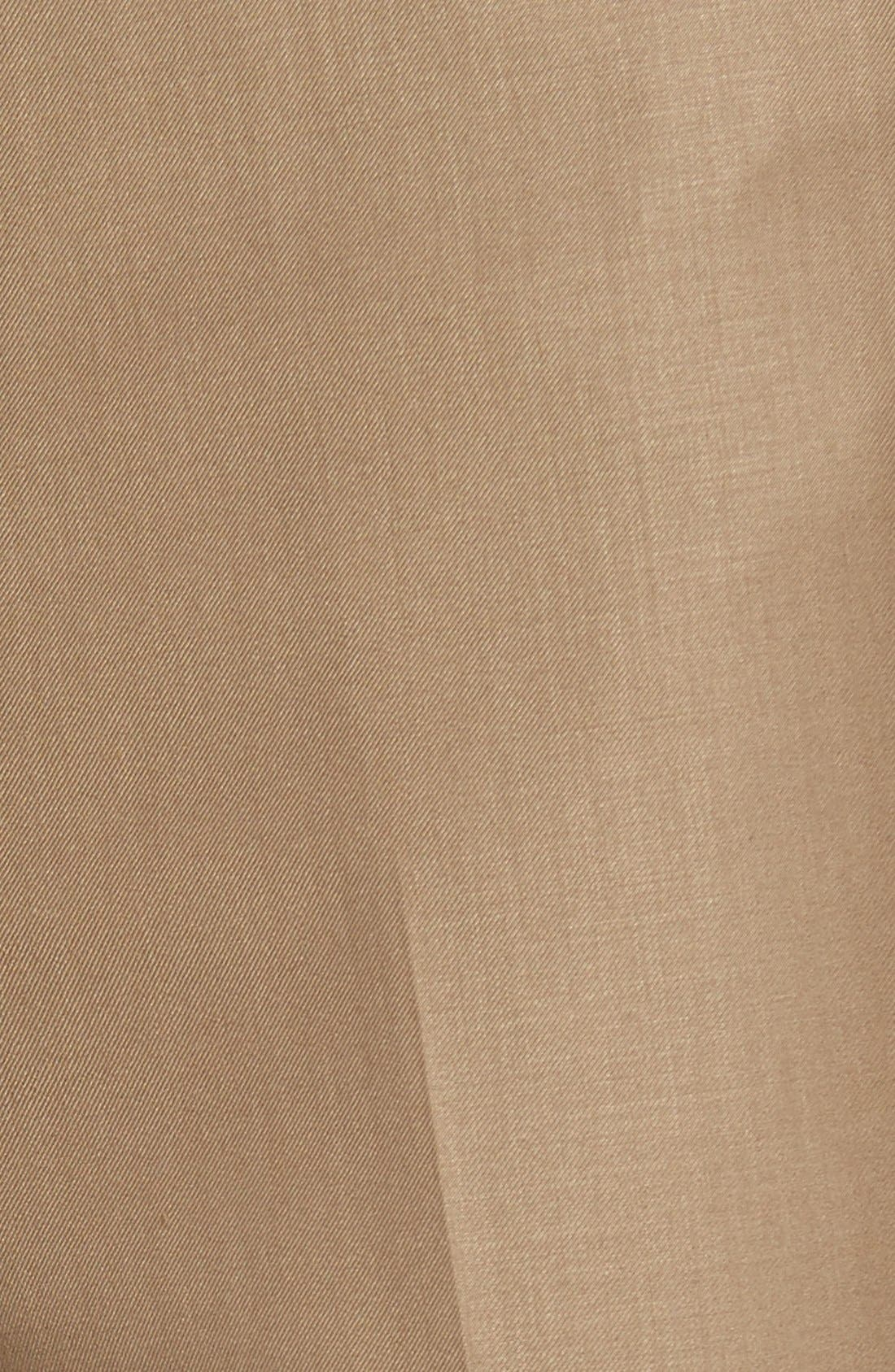 'Travel Genius - Hawk' Flat Front Pants,                             Alternate thumbnail 12, color,