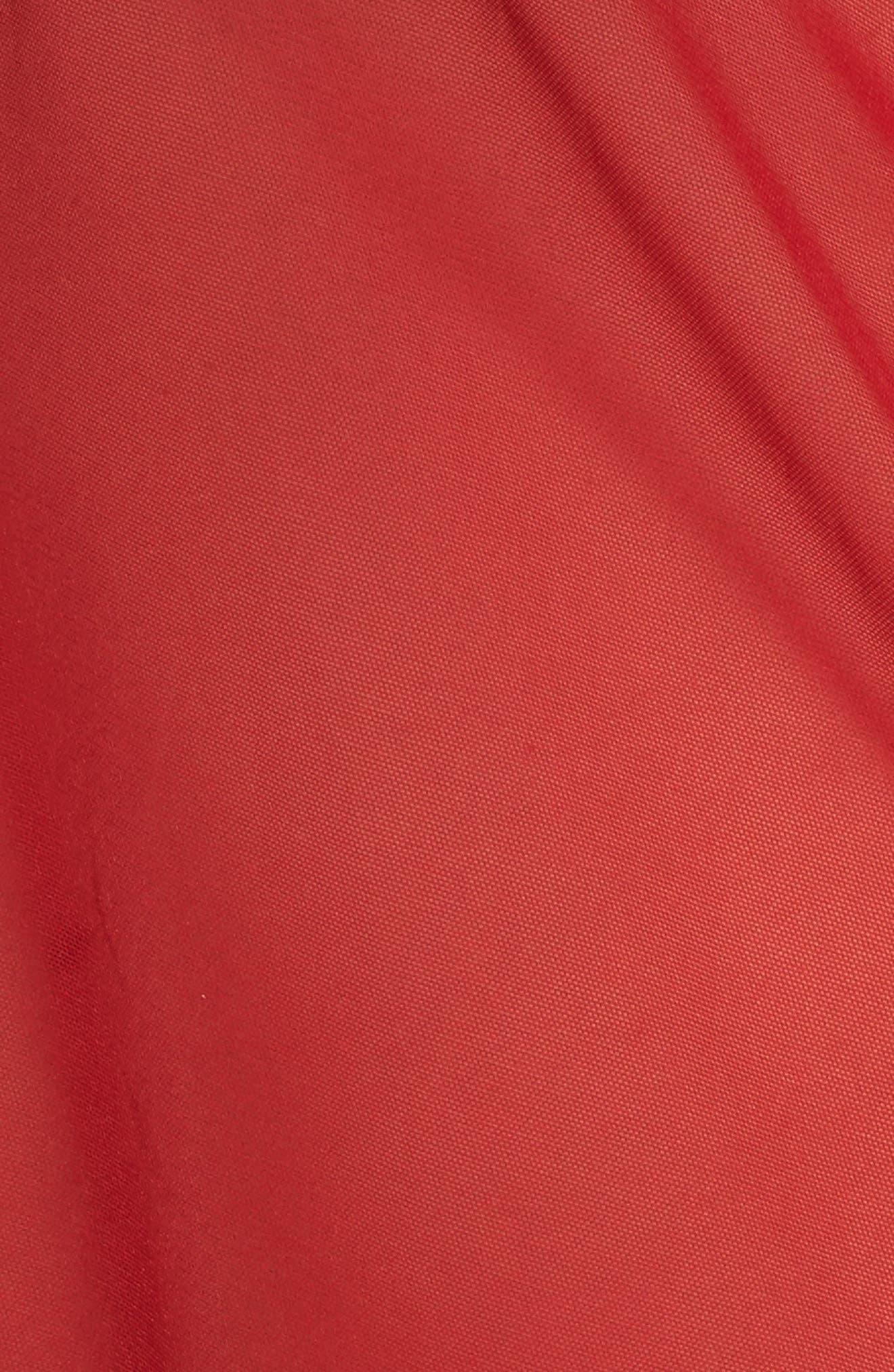 Eyelash Lace Robe & G-String,                             Alternate thumbnail 24, color,