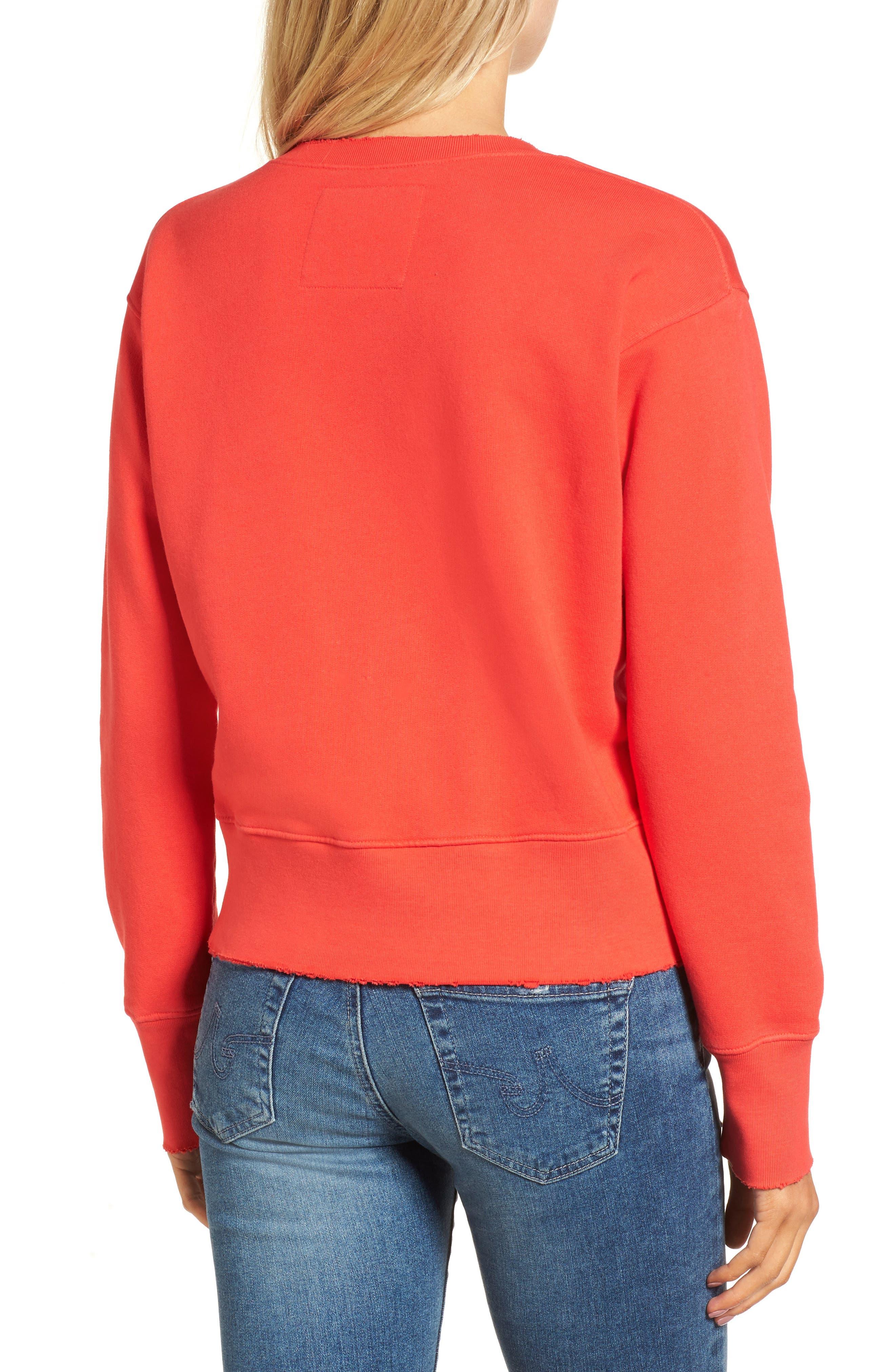 FRANK & EILEEN TEE LAB,                             Distressed Sweatshirt,                             Alternate thumbnail 2, color,                             624