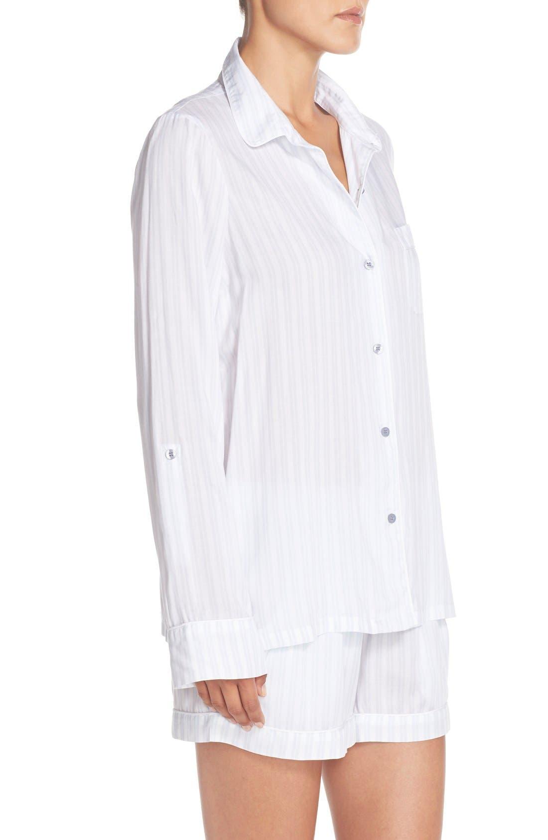 Stripe Short Pajamas,                             Alternate thumbnail 2, color,                             450