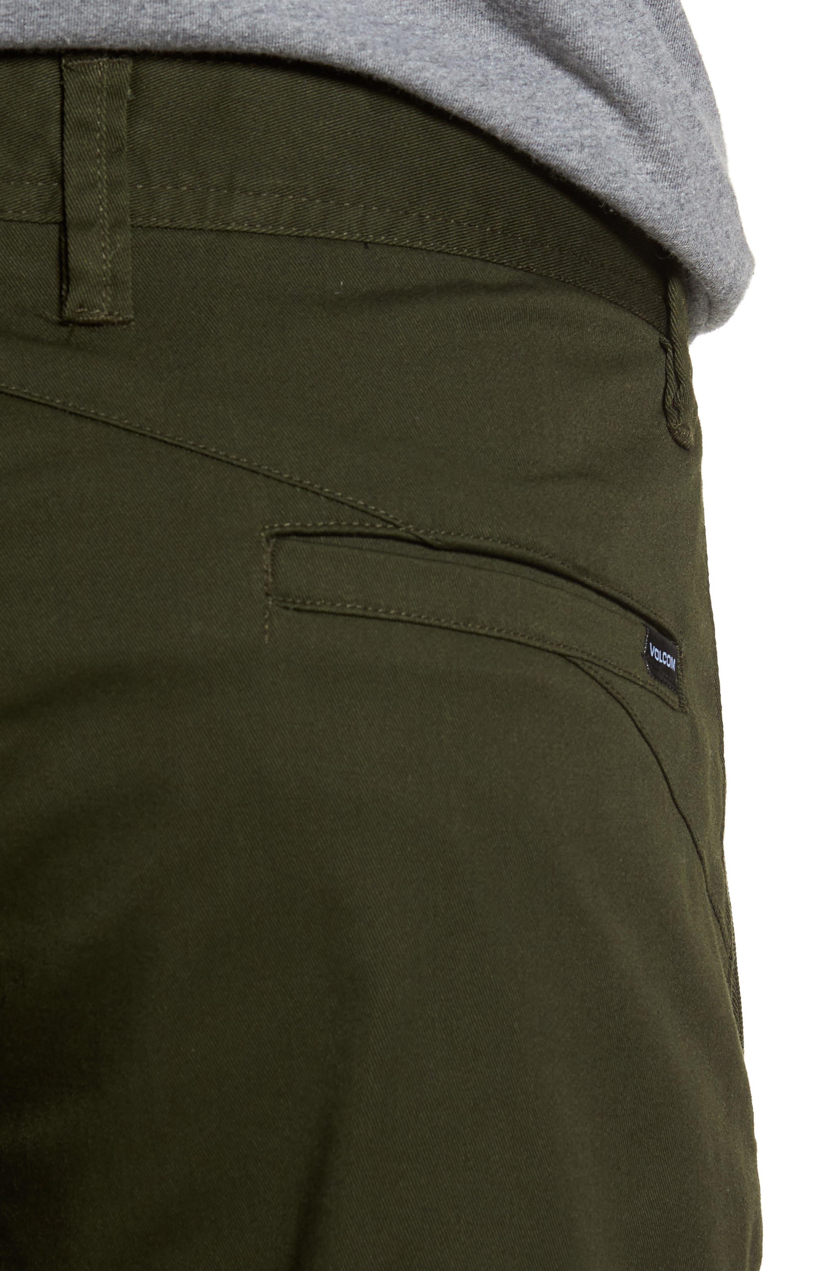 'Modern' Stretch Chino Shorts,                             Alternate thumbnail 33, color,