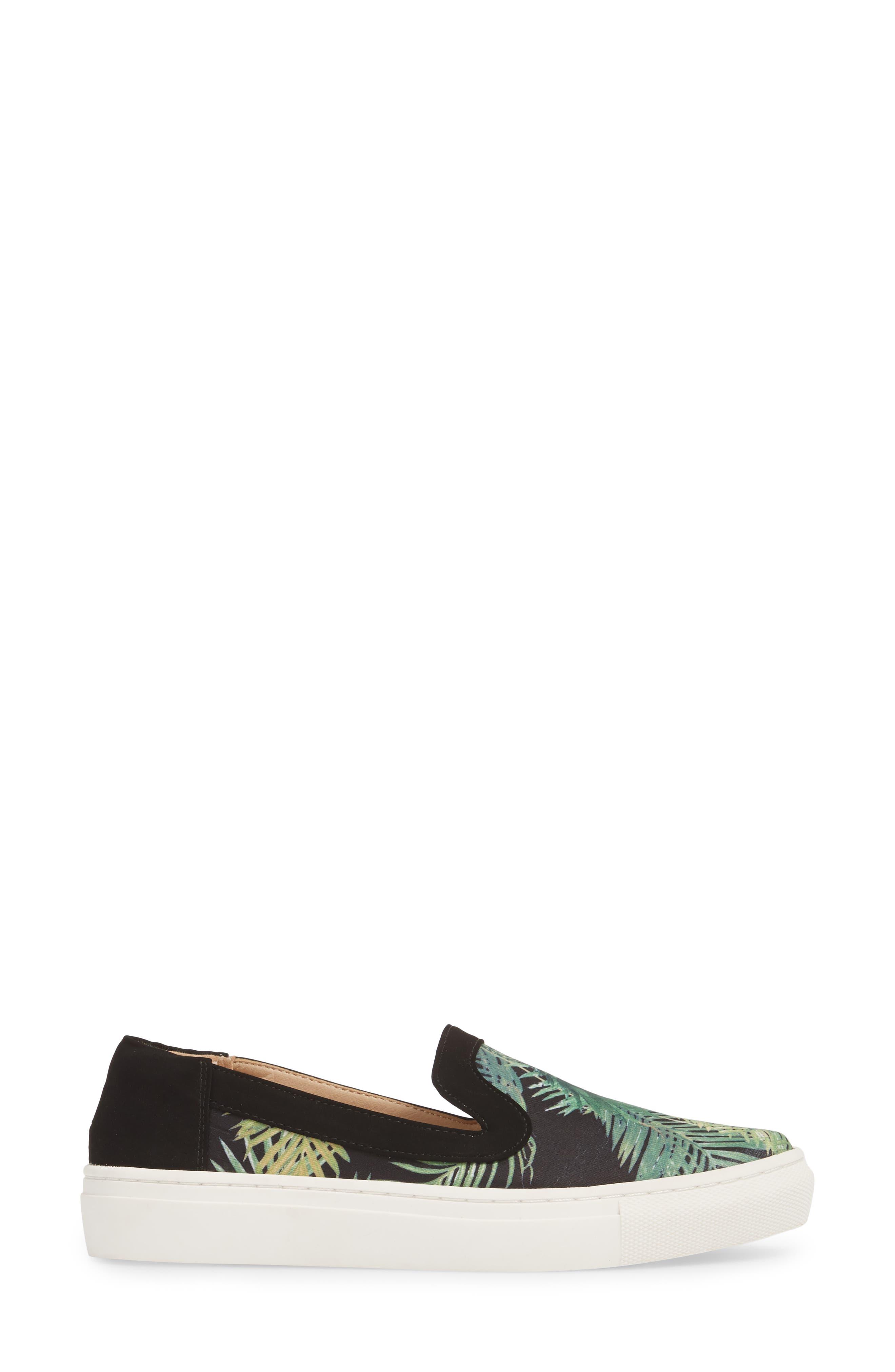 Lineth Sneaker,                             Alternate thumbnail 3, color,                             BLACK / MULTI
