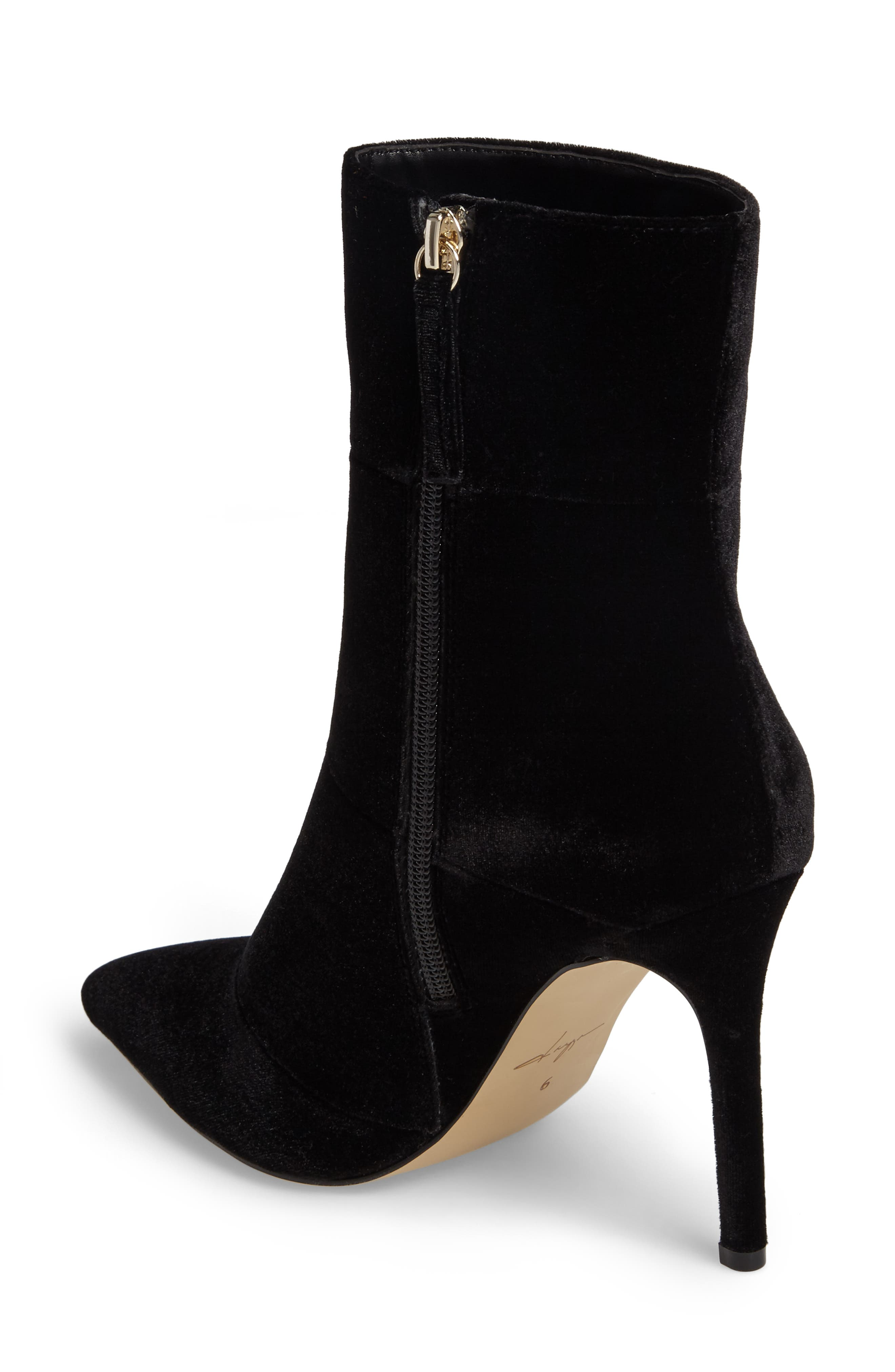 by Zendaya Nicolette Pointy Toe Bootie,                             Alternate thumbnail 2, color,                             006
