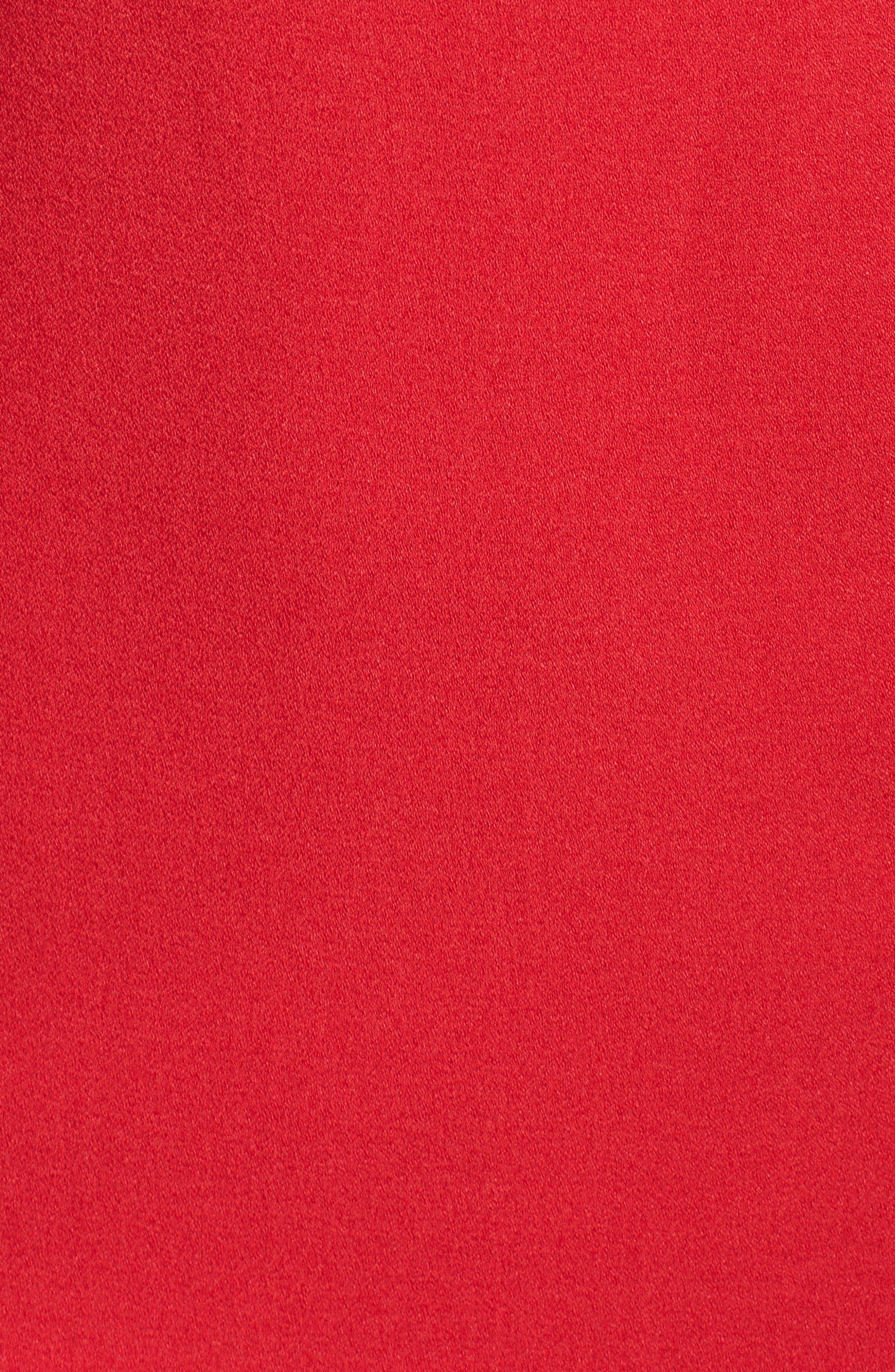 Off the Shoulder Dress,                             Alternate thumbnail 6, color,                             RED JESTER