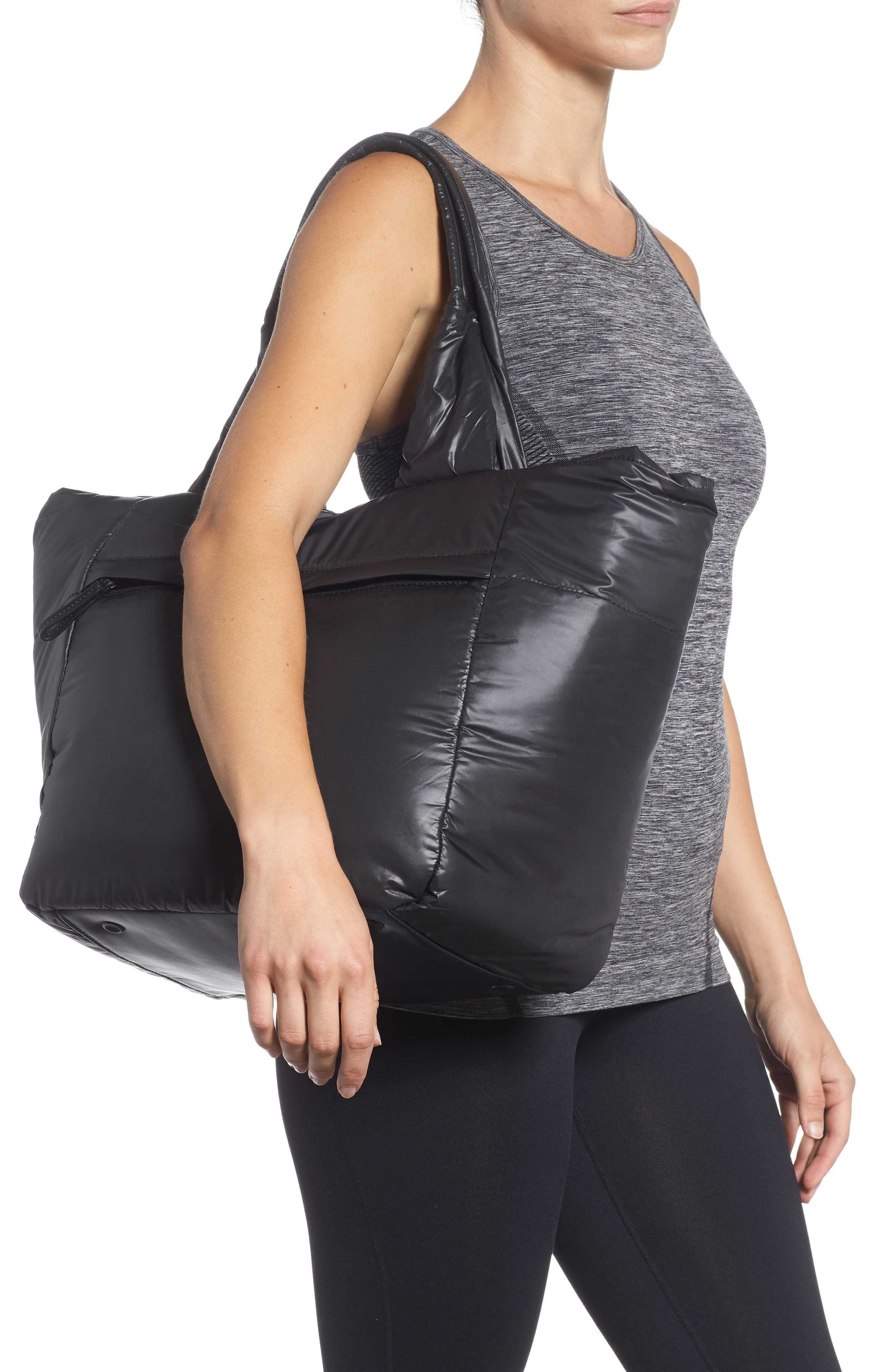 Cumulus Tote,                             Alternate thumbnail 2, color,                             BLACK
