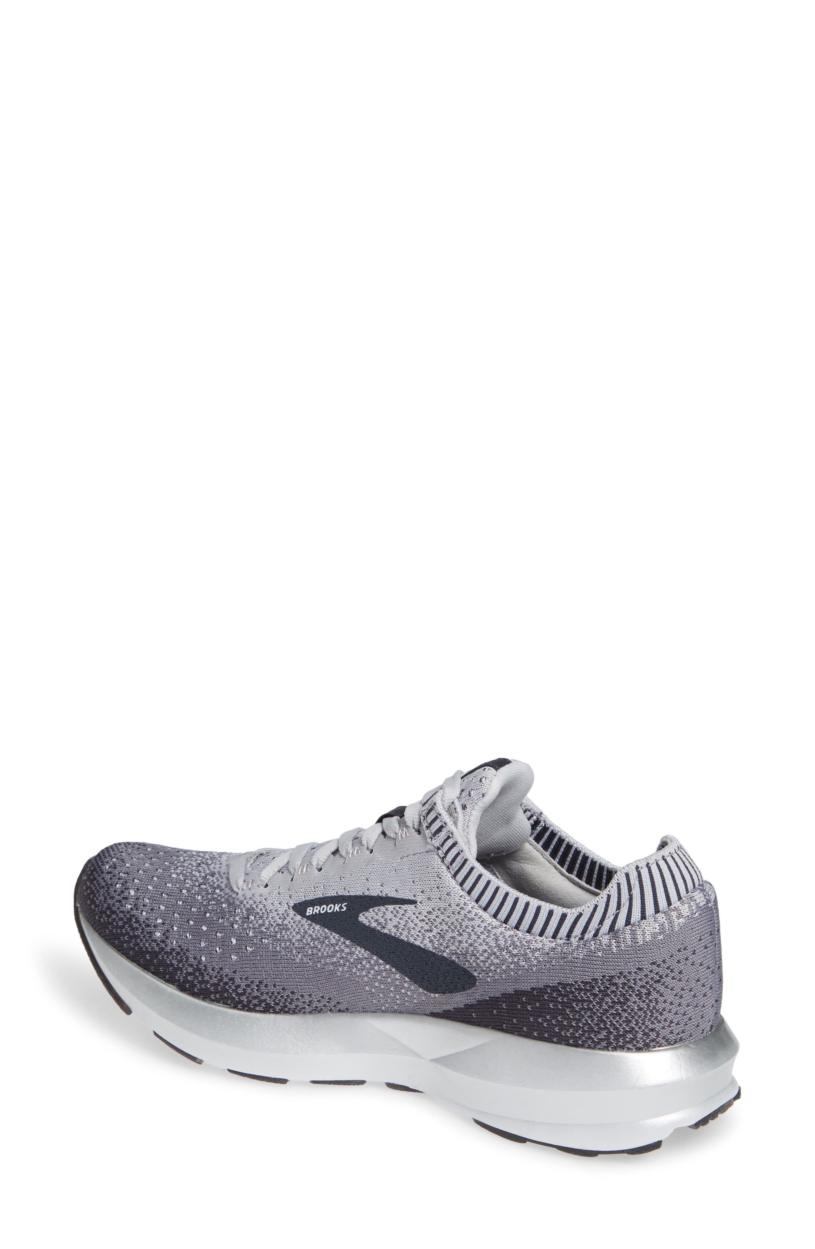 Levitate 2 Running Shoe,                             Alternate thumbnail 2, color,                             GREY/ EBONY/ WHITE