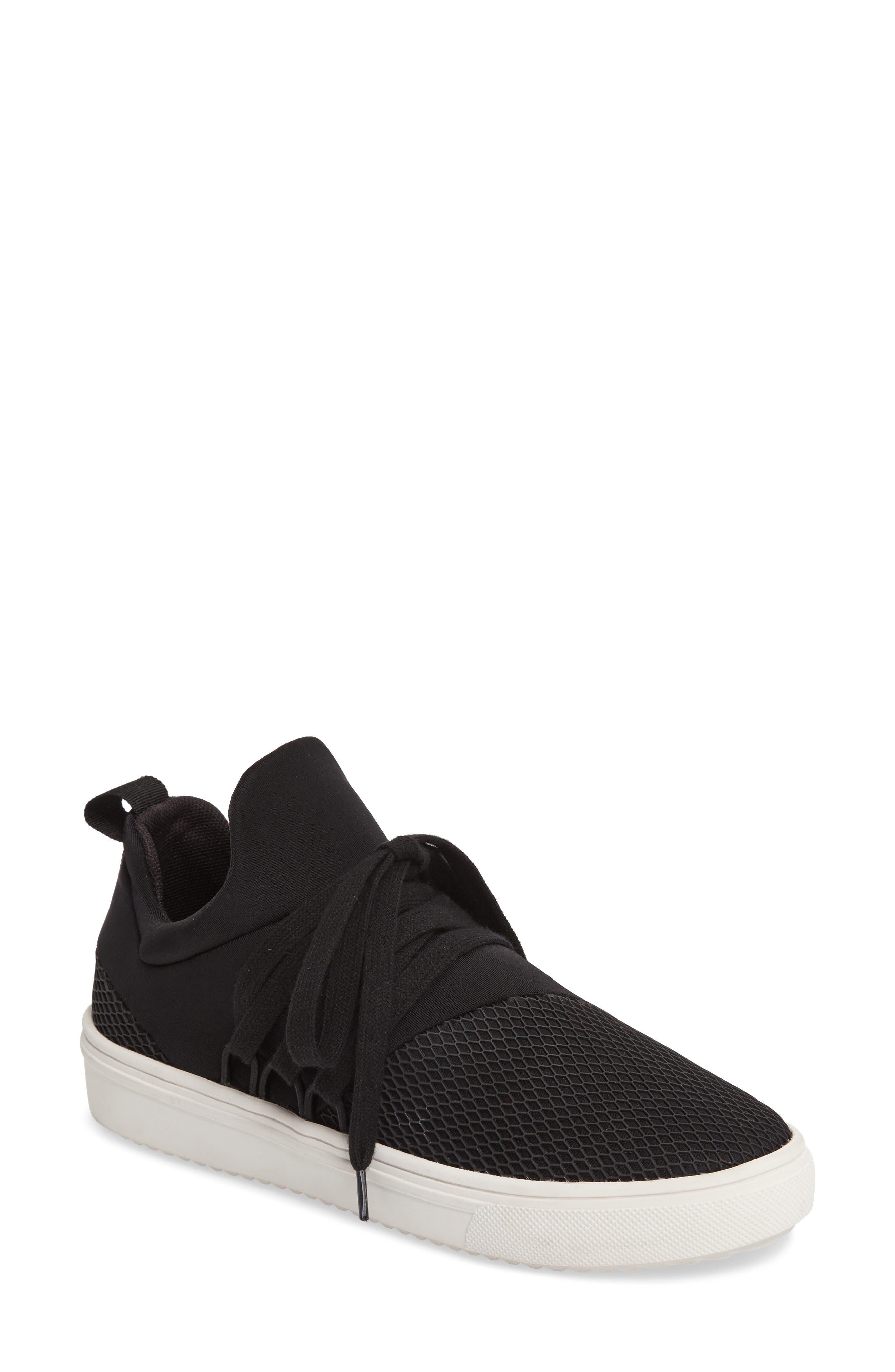 Lancer Sneaker, Main, color, BLACK