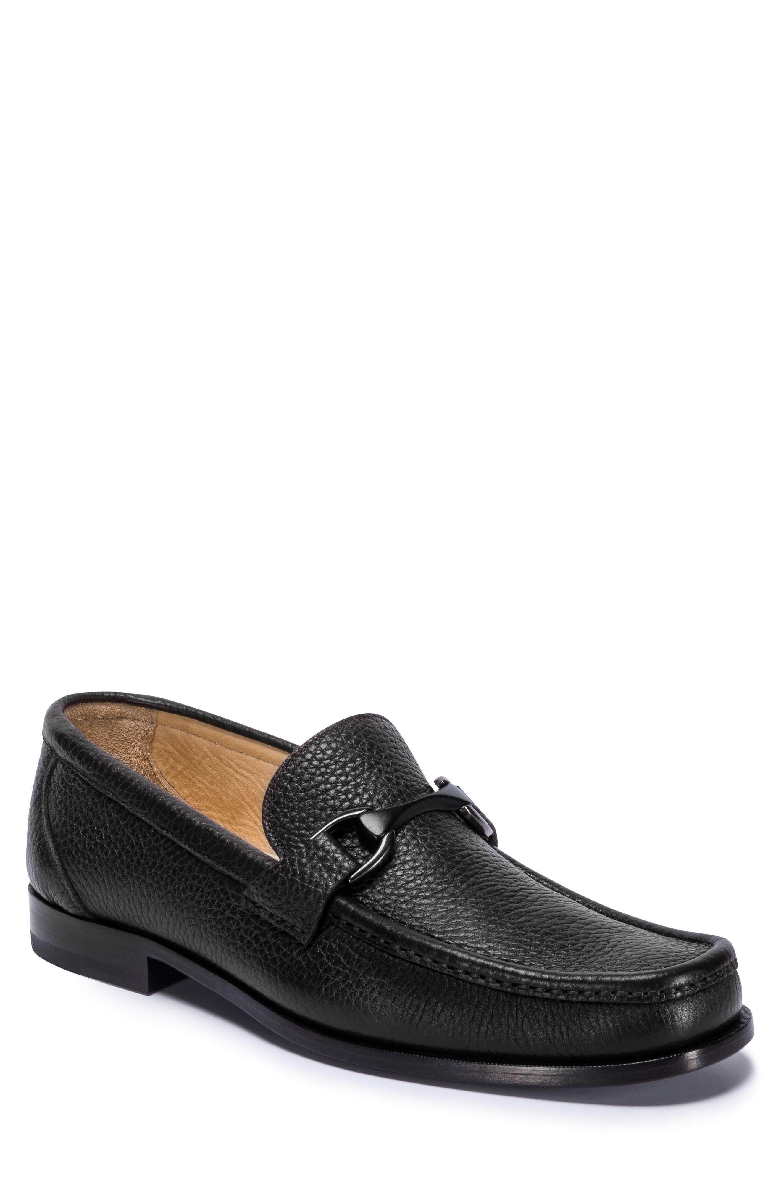 Padua Bit Loafer,                         Main,                         color, NERO LEATHER