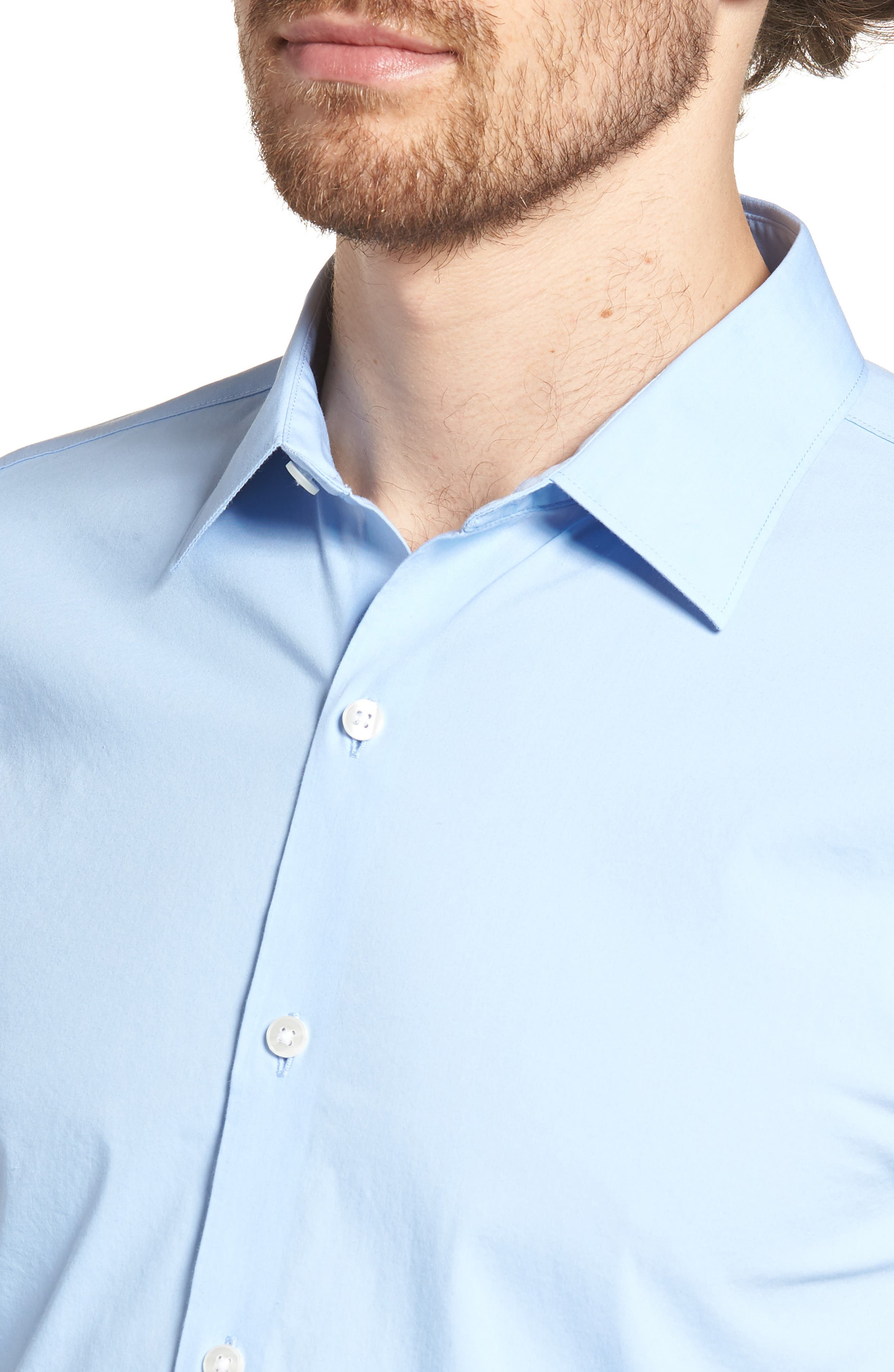Unbutton Down 2.0 Slim Fit Sport Shirt,                             Alternate thumbnail 15, color,