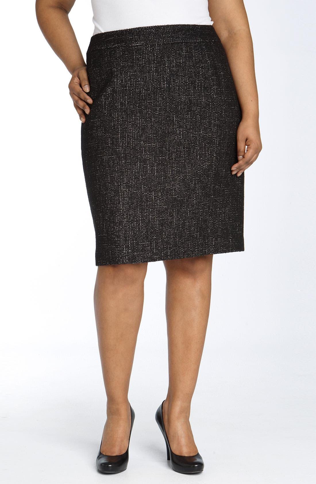 'Novel' Pencil Skirt,                         Main,                         color, 008