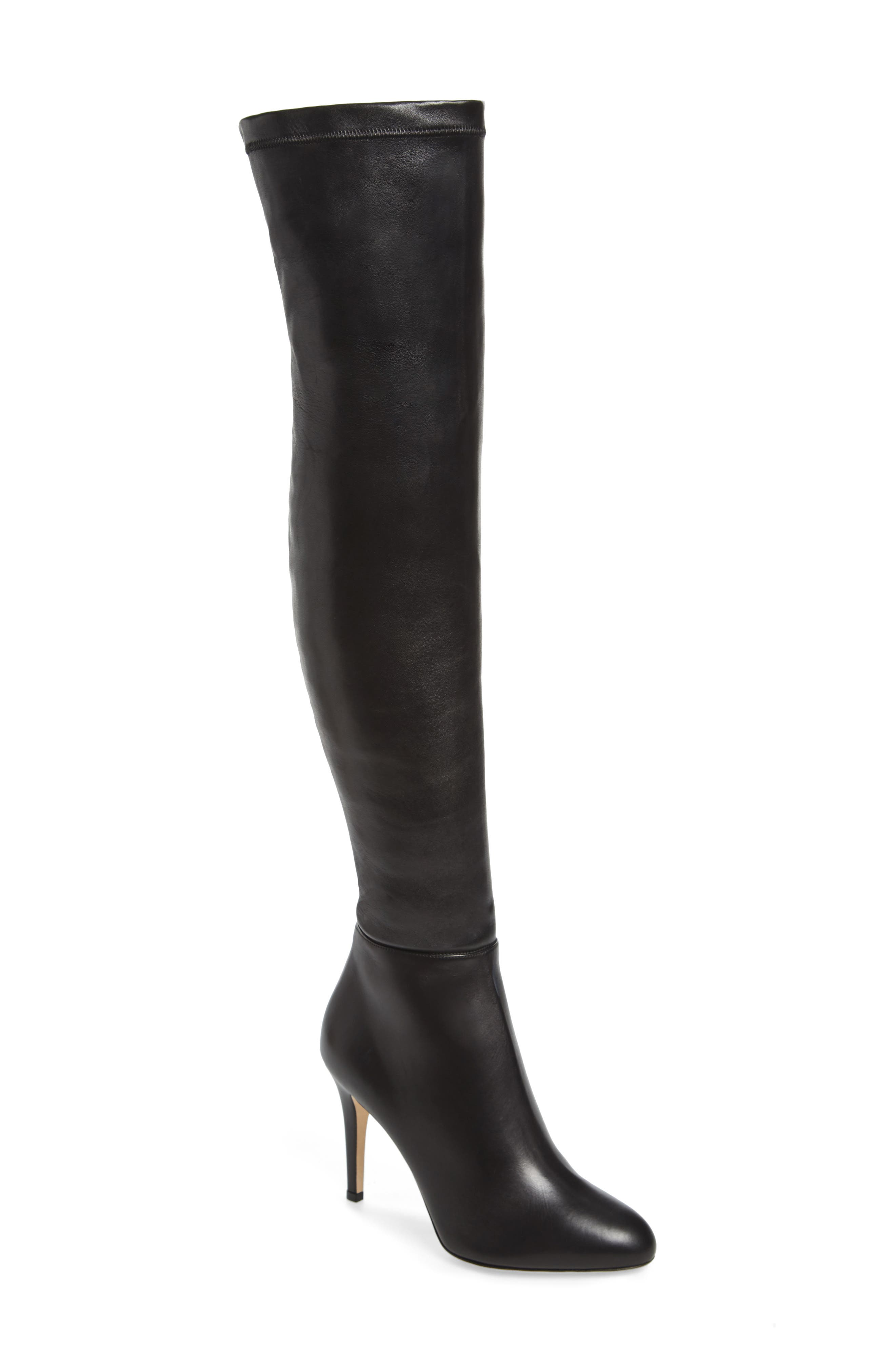Over-the-Knee Boot,                             Main thumbnail 1, color,                             001