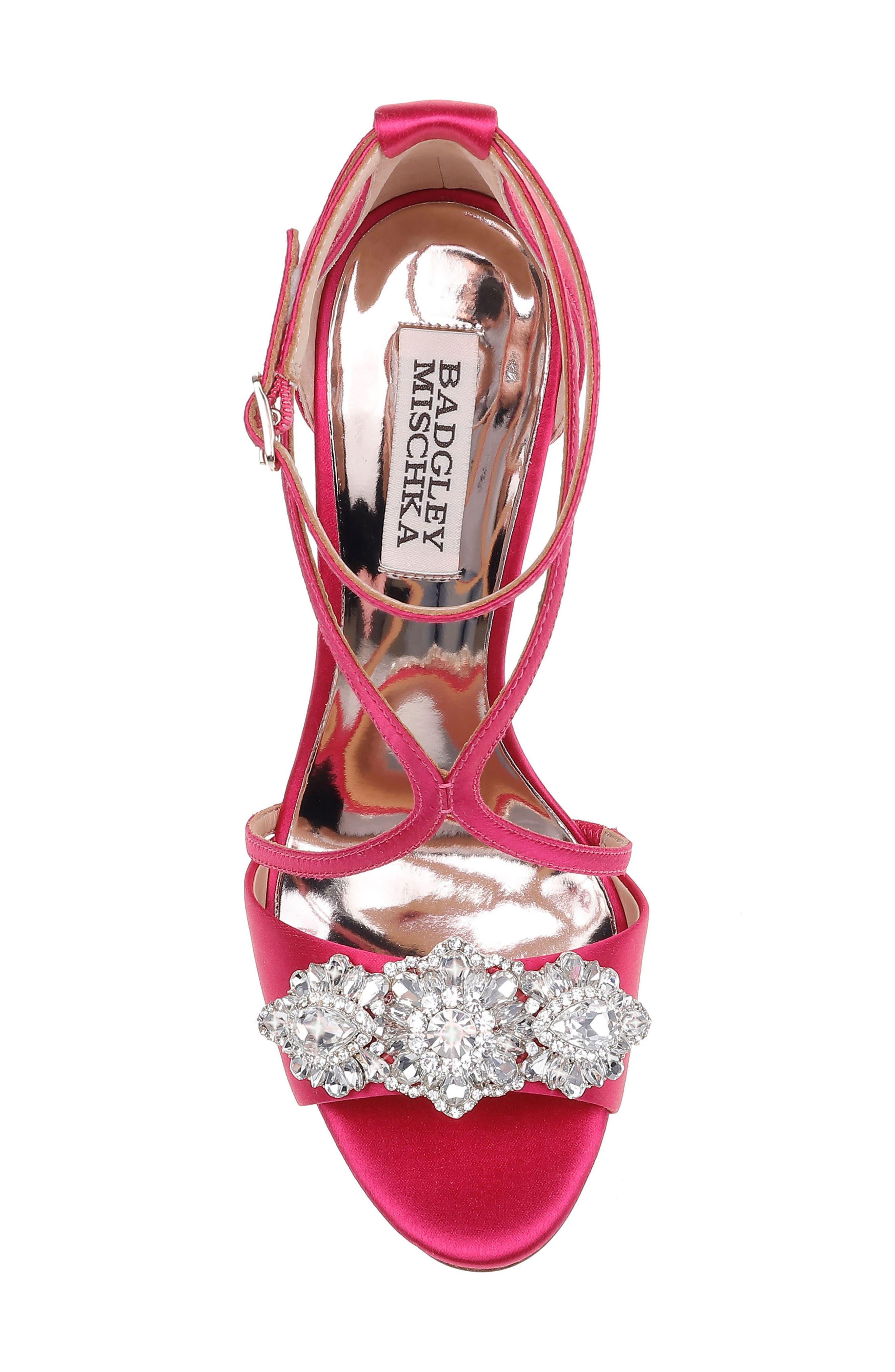 Vanessa Crystal Embellished Sandal,                             Alternate thumbnail 5, color,                             688