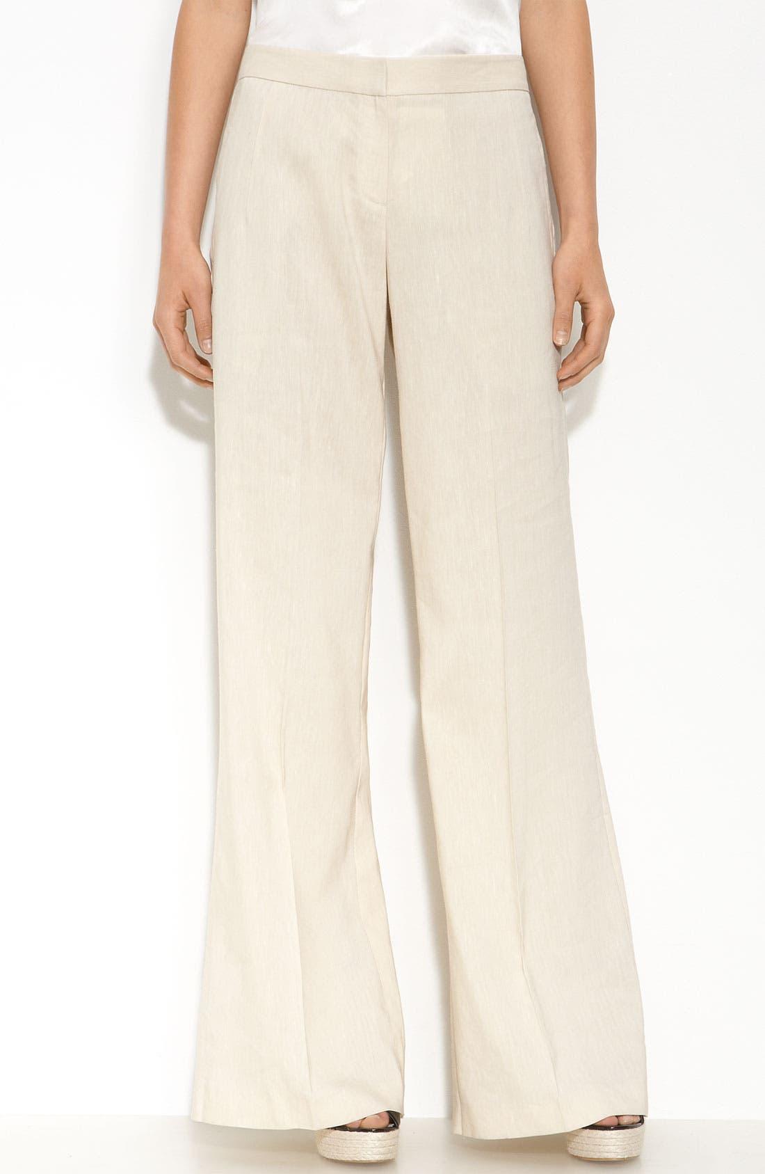THEORY 'Fyran - Wool Crunch' Pants, Main, color, 270