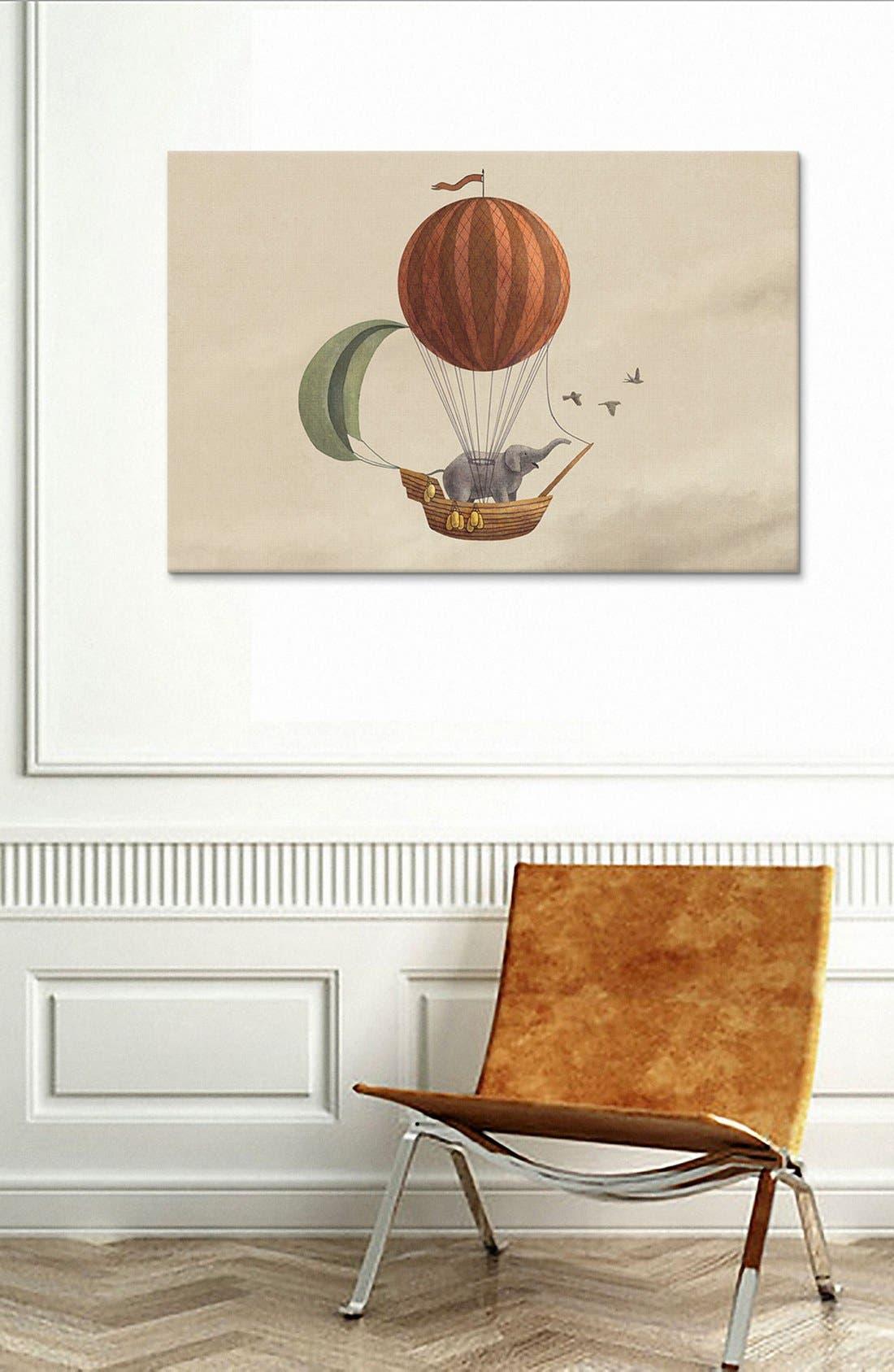 'Adventure Awaits Landscape - Terry Fan' Giclée Print Canvas Art,                             Alternate thumbnail 2, color,                             250
