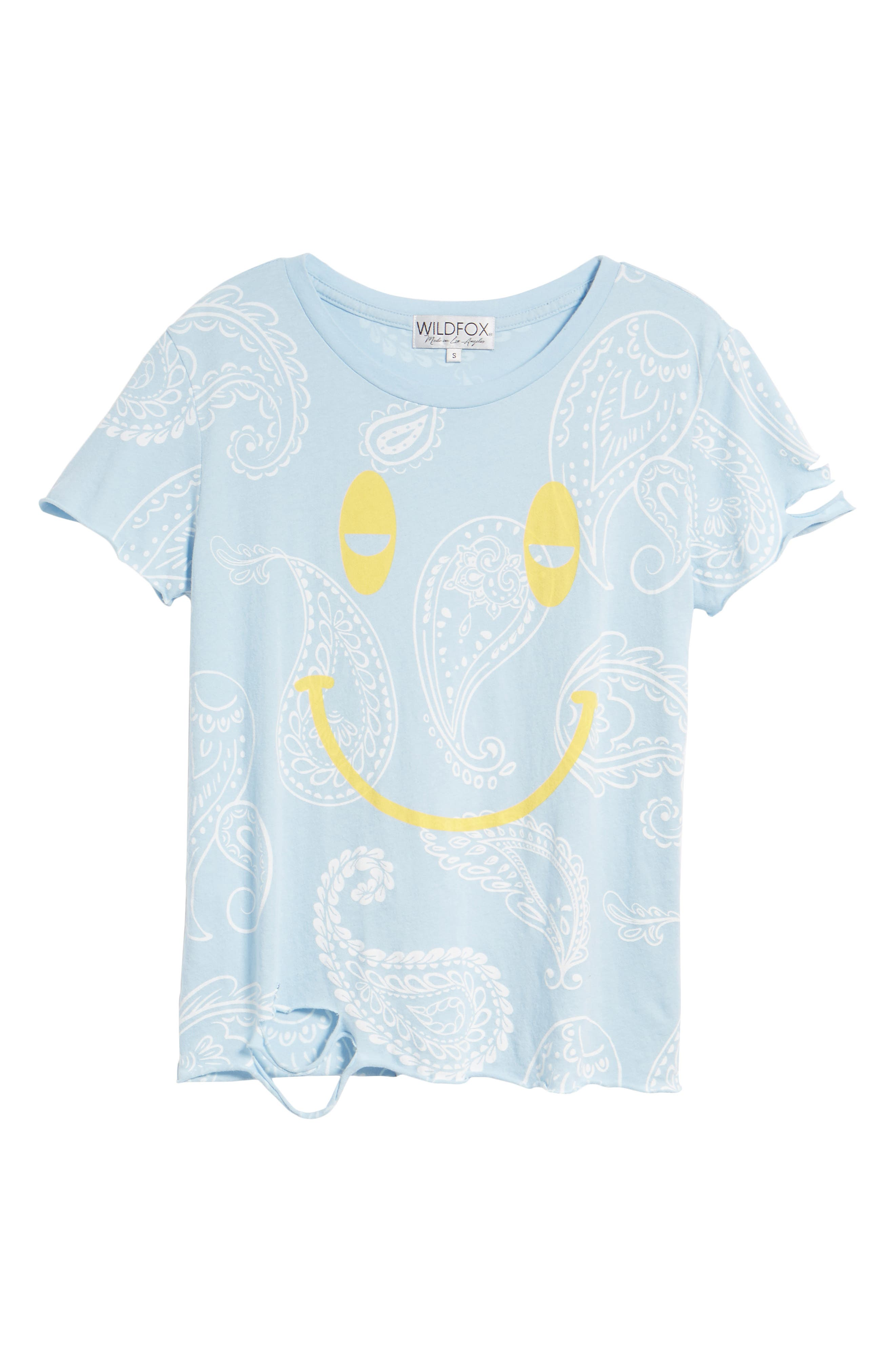 Sleepy Smiley Stellar Tee,                             Alternate thumbnail 7, color,                             460