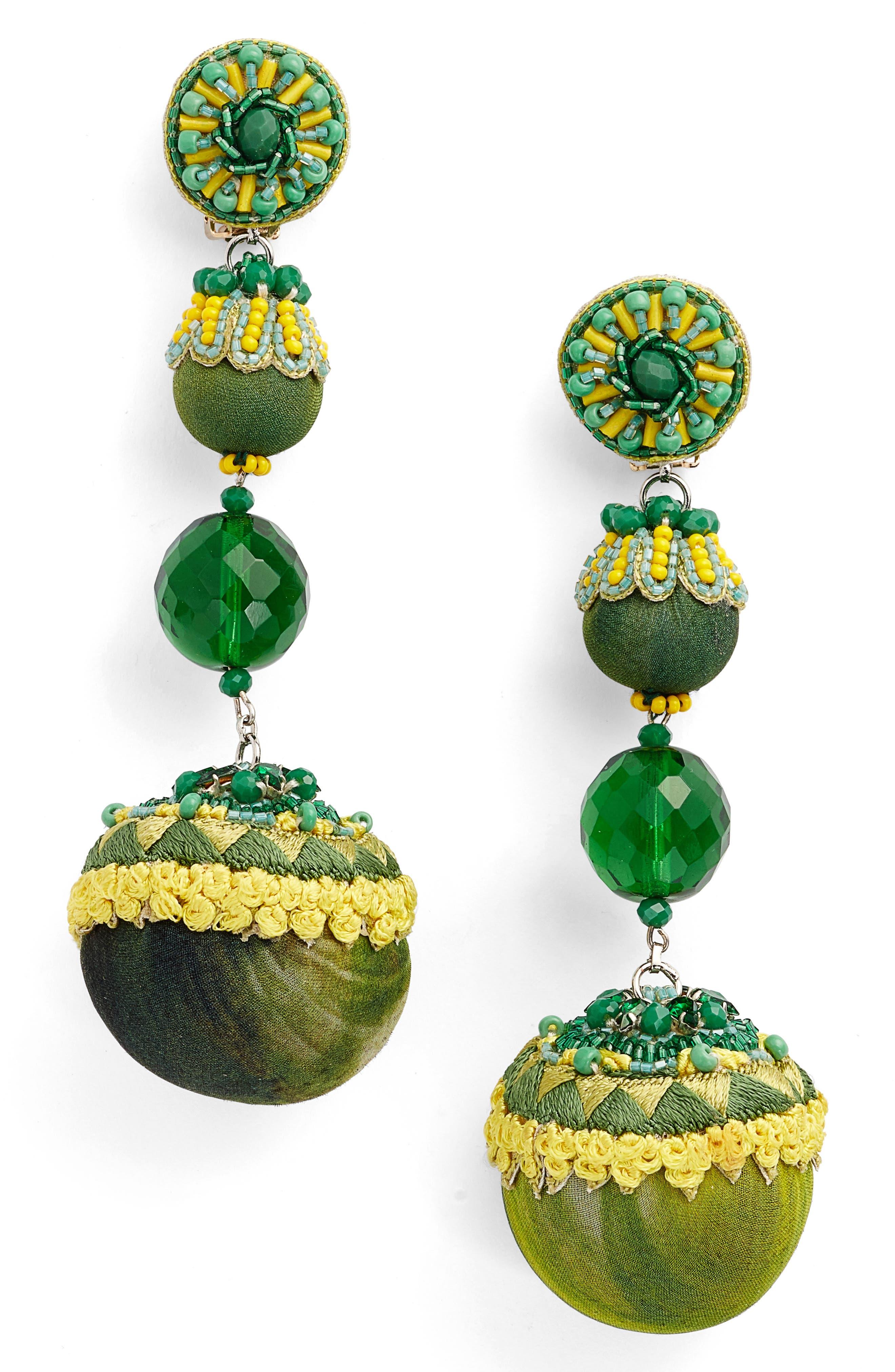 Lily Linear Earrings,                             Main thumbnail 1, color,                             300