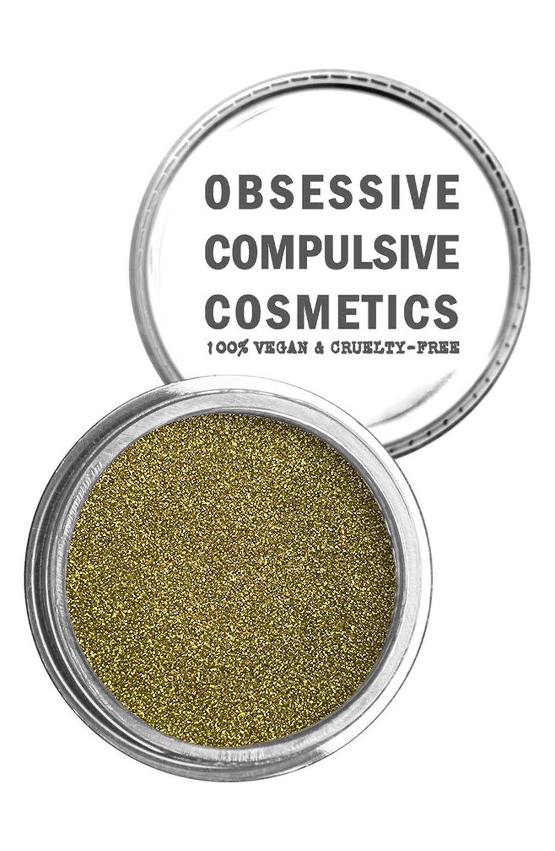 Cosmetic Glitter,                         Main,                         color, OLIVE