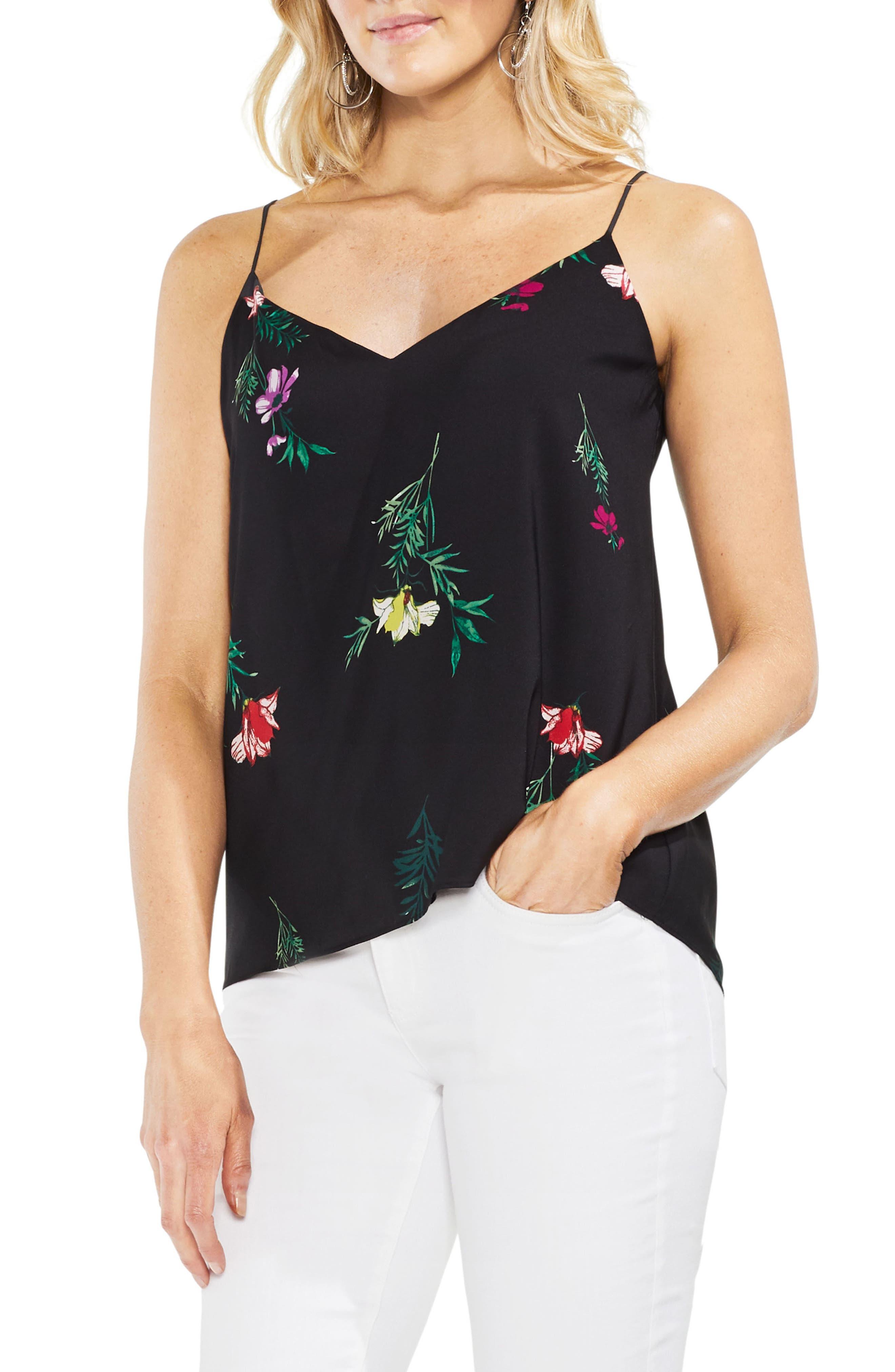 Tropical Garden Tie Back Camisole,                         Main,                         color, 001