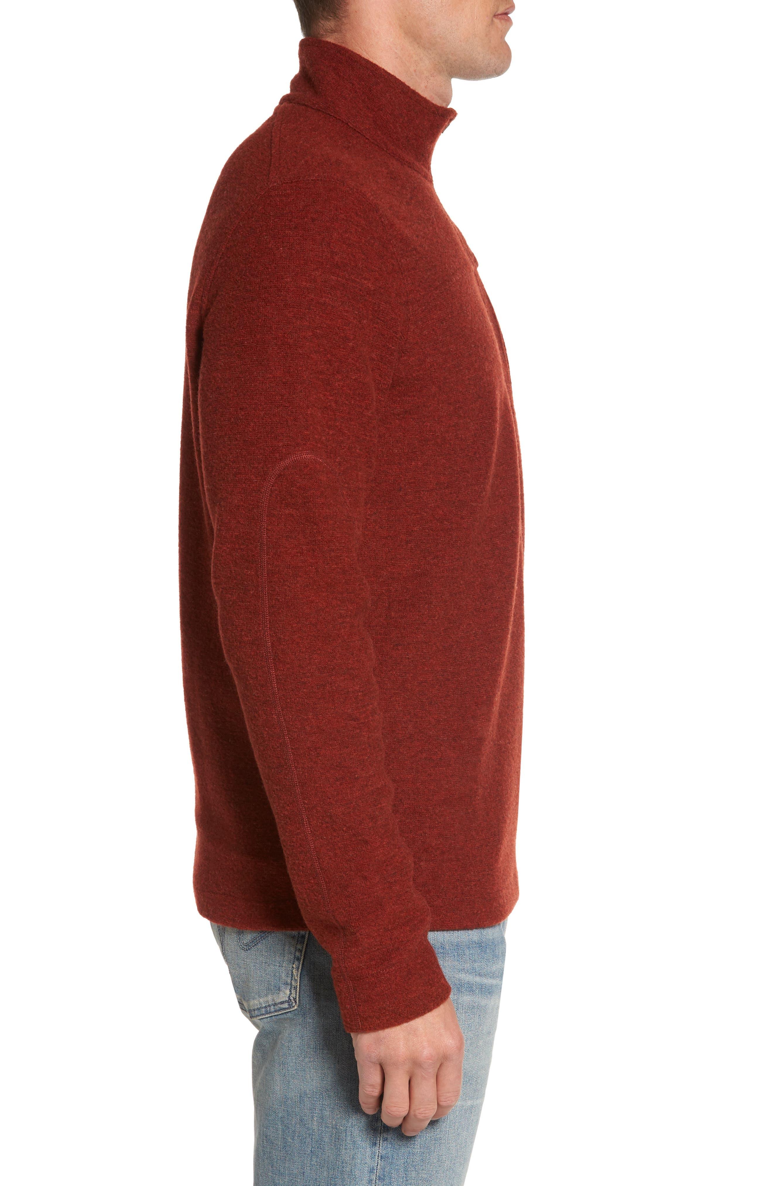 Scout Jura Merino Wool Blend Quarter Zip Pullover,                             Alternate thumbnail 15, color,