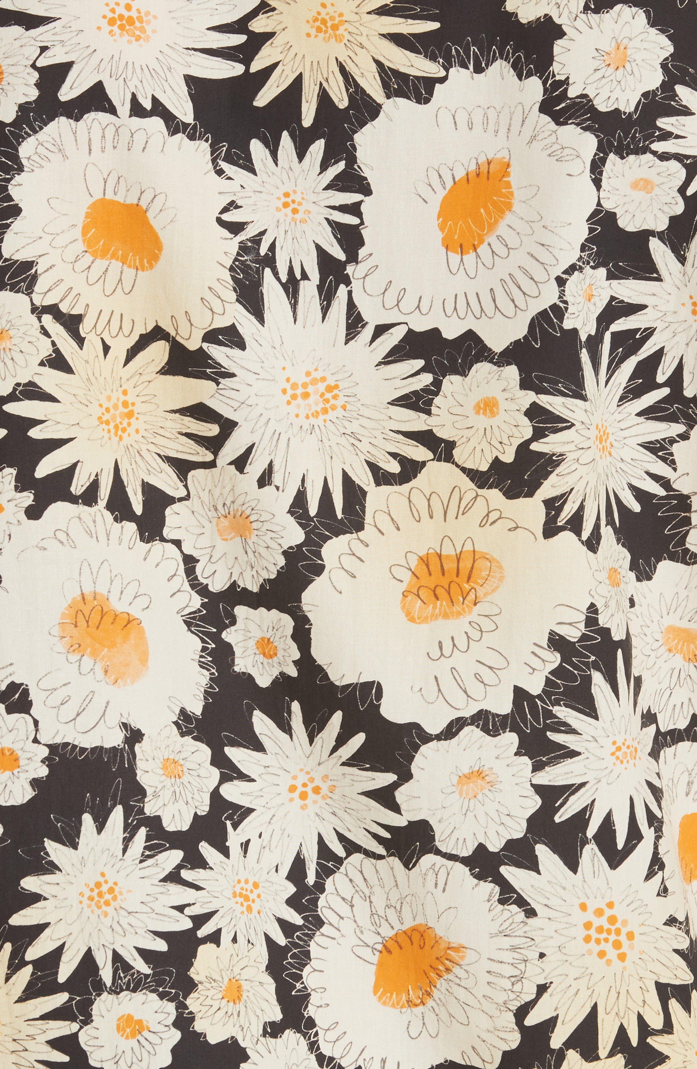 Jude Floral Print Shirt,                             Alternate thumbnail 5, color,                             001
