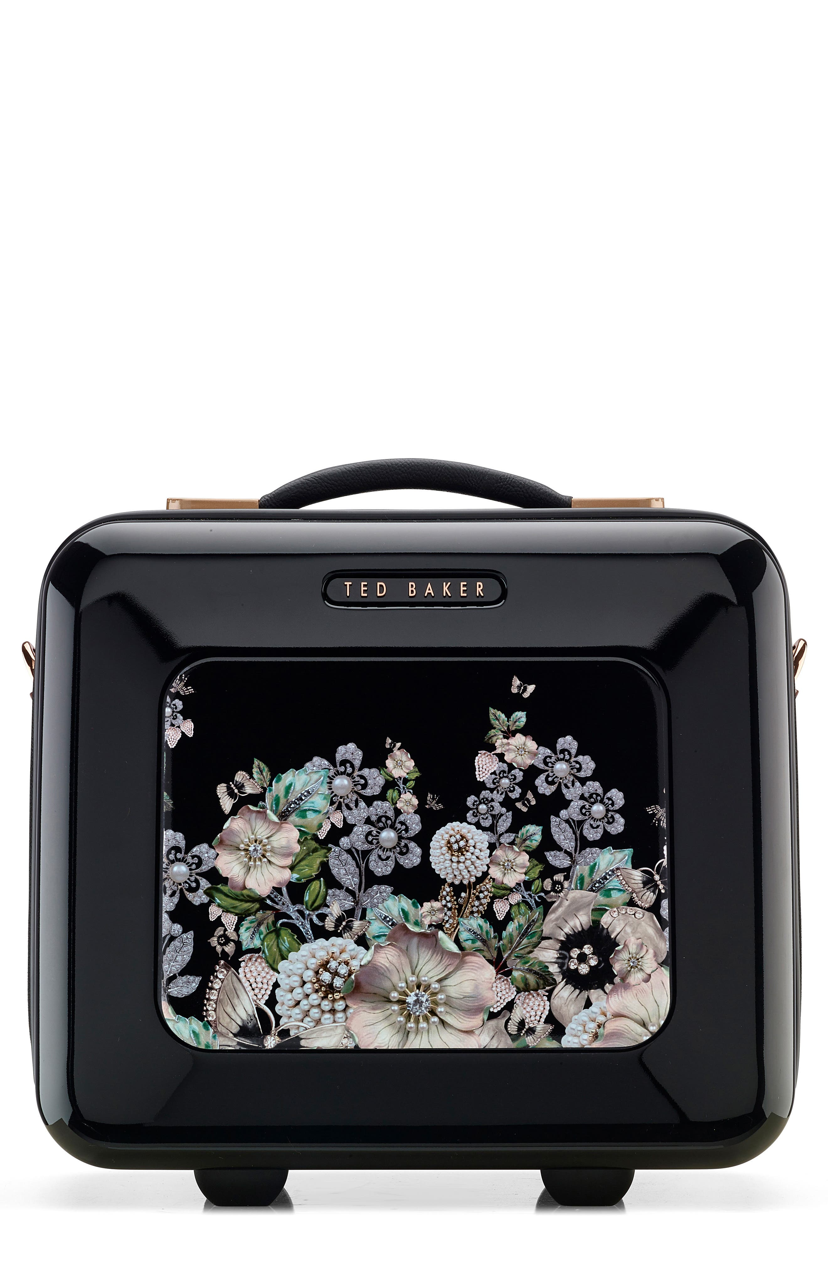 Gem Garden Vanity Case,                         Main,                         color, 001