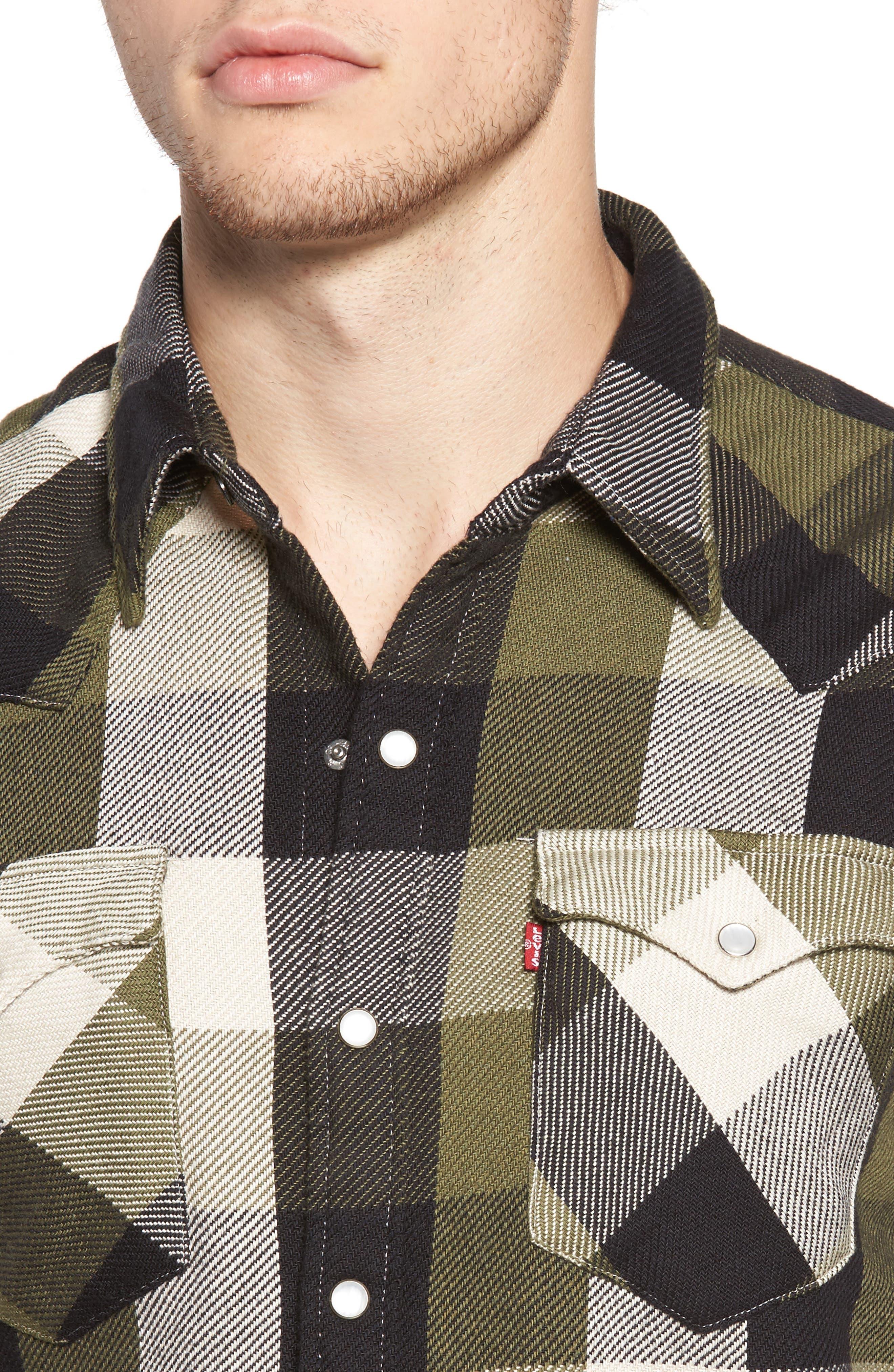 'Barstow' Denim Western Shirt,                             Alternate thumbnail 19, color,