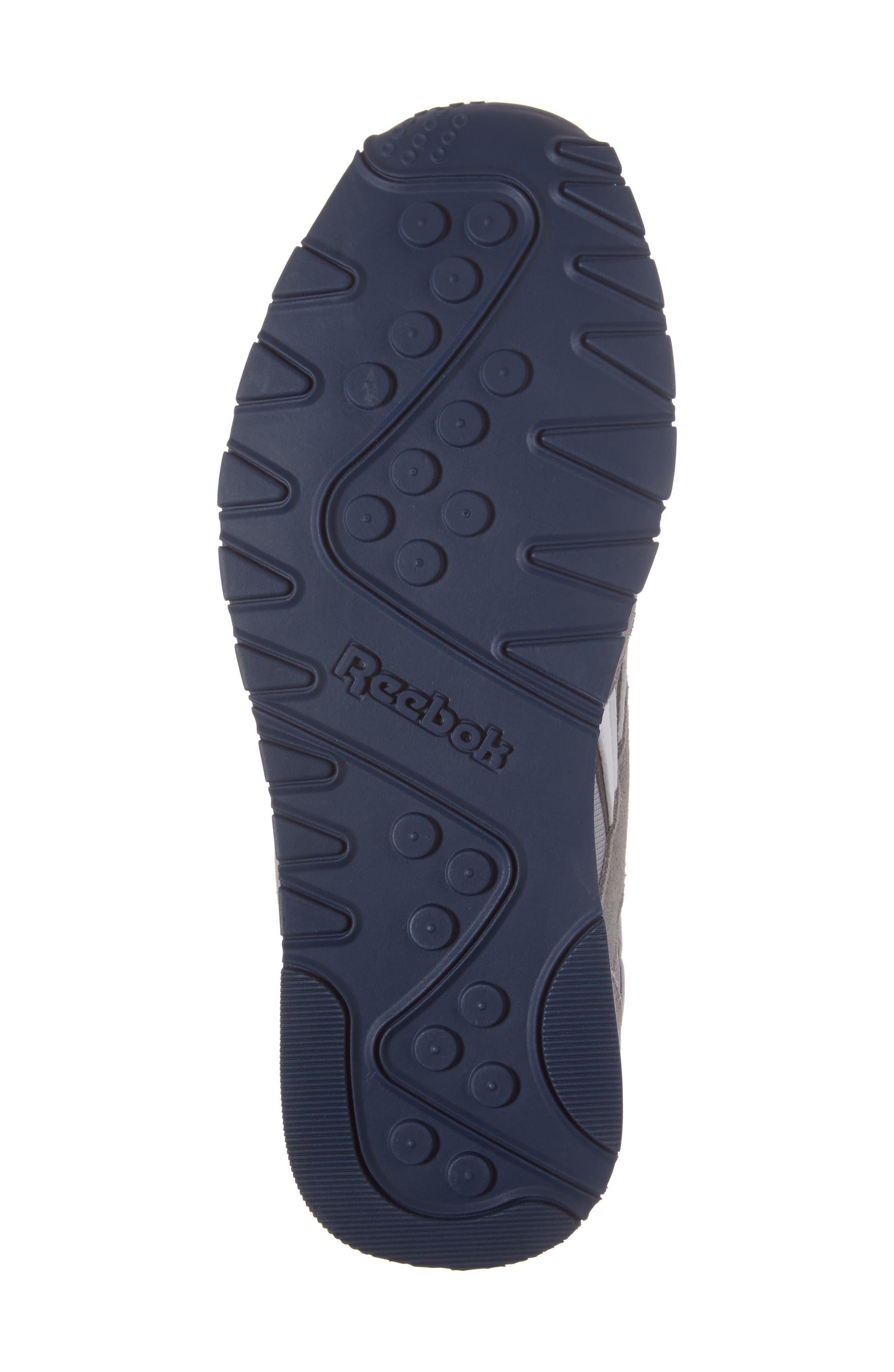 Classic Nylon Sneaker,                             Alternate thumbnail 6, color,                             PLATINUM/ JET BLUE