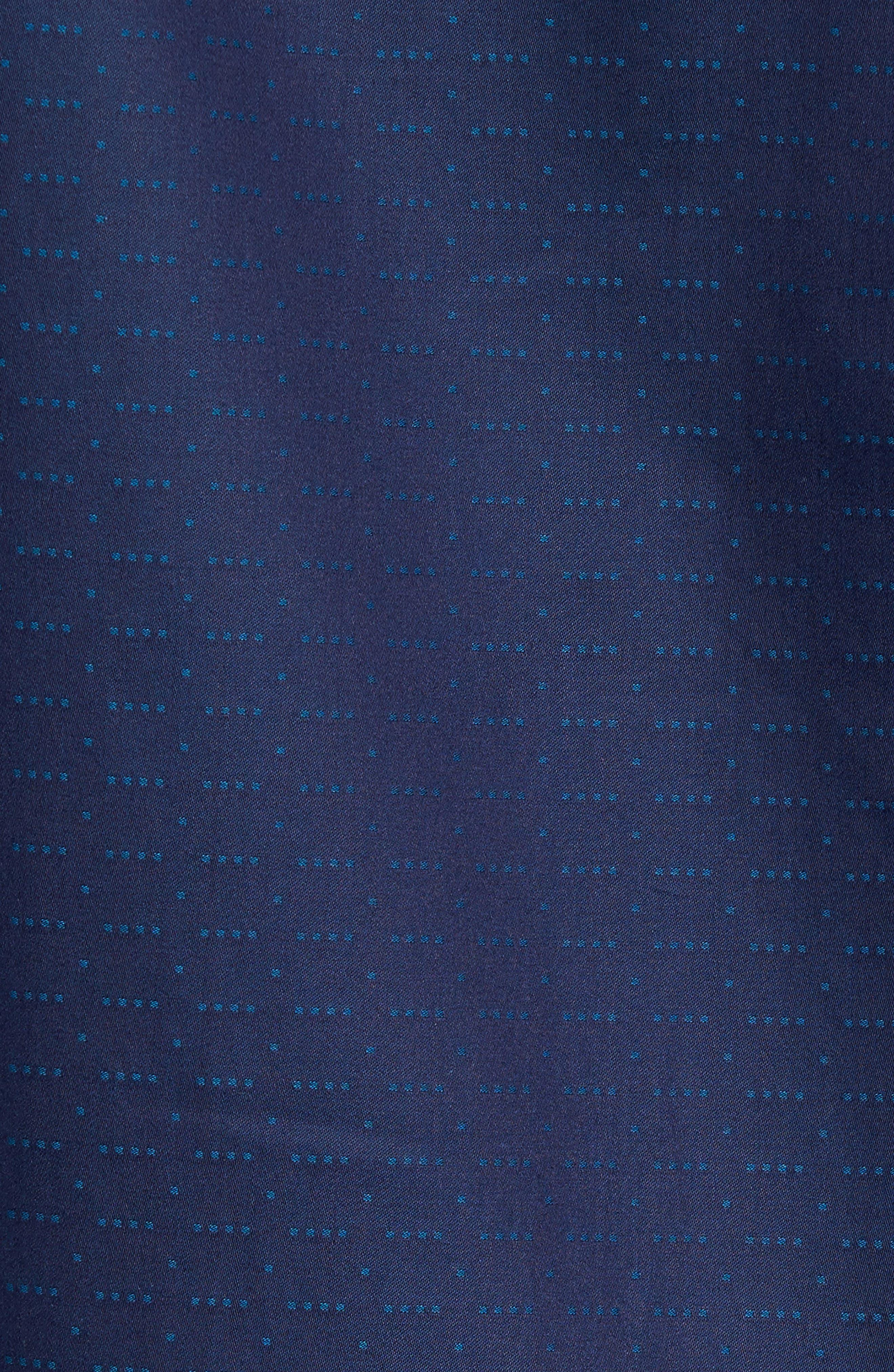Classic Fit Square Dobby Sport Shirt,                             Alternate thumbnail 5, color,                             410