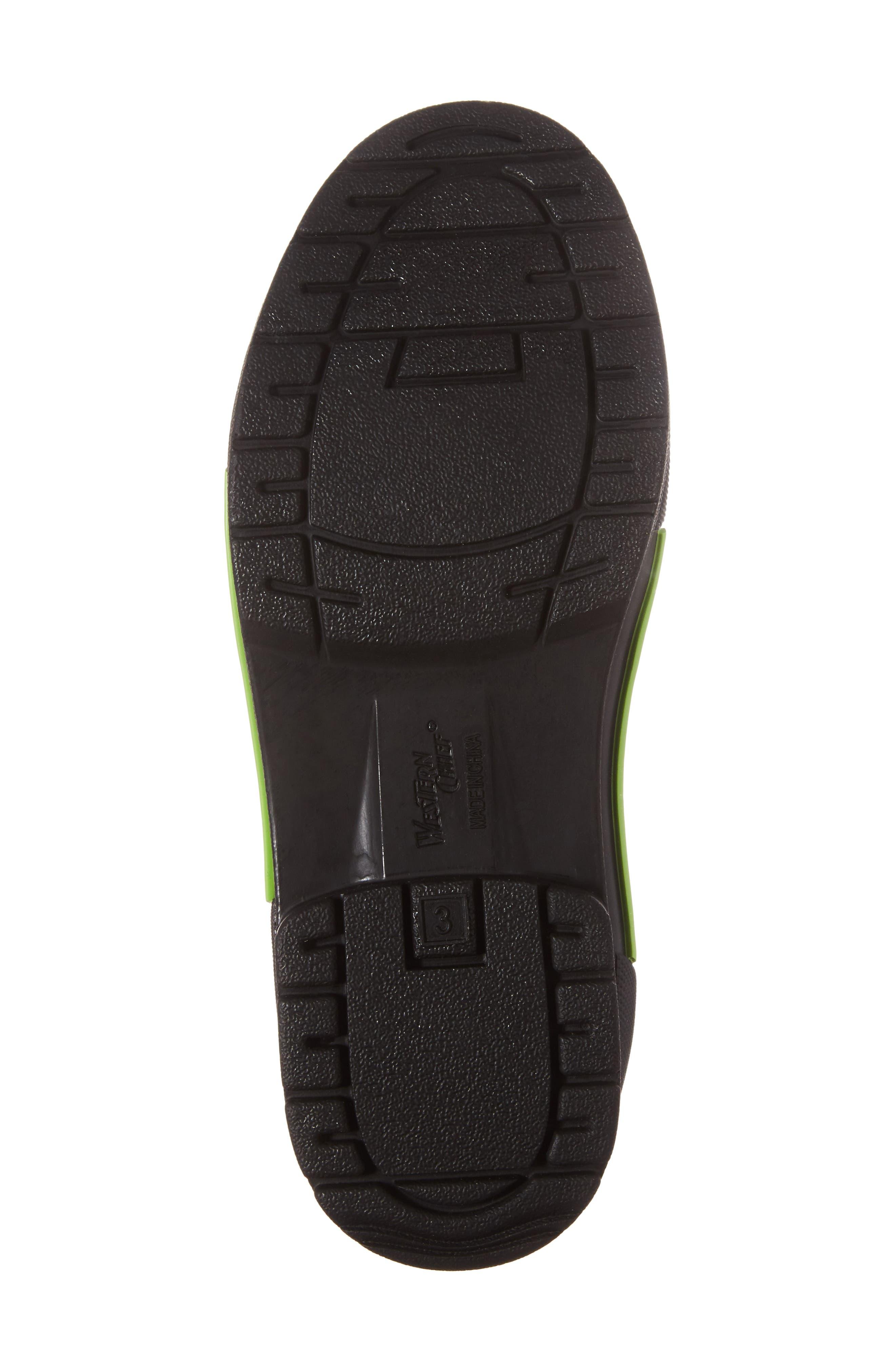 Classic Twin Gore Waterproof Rain Boot,                             Alternate thumbnail 6, color,                             CHARCOAL