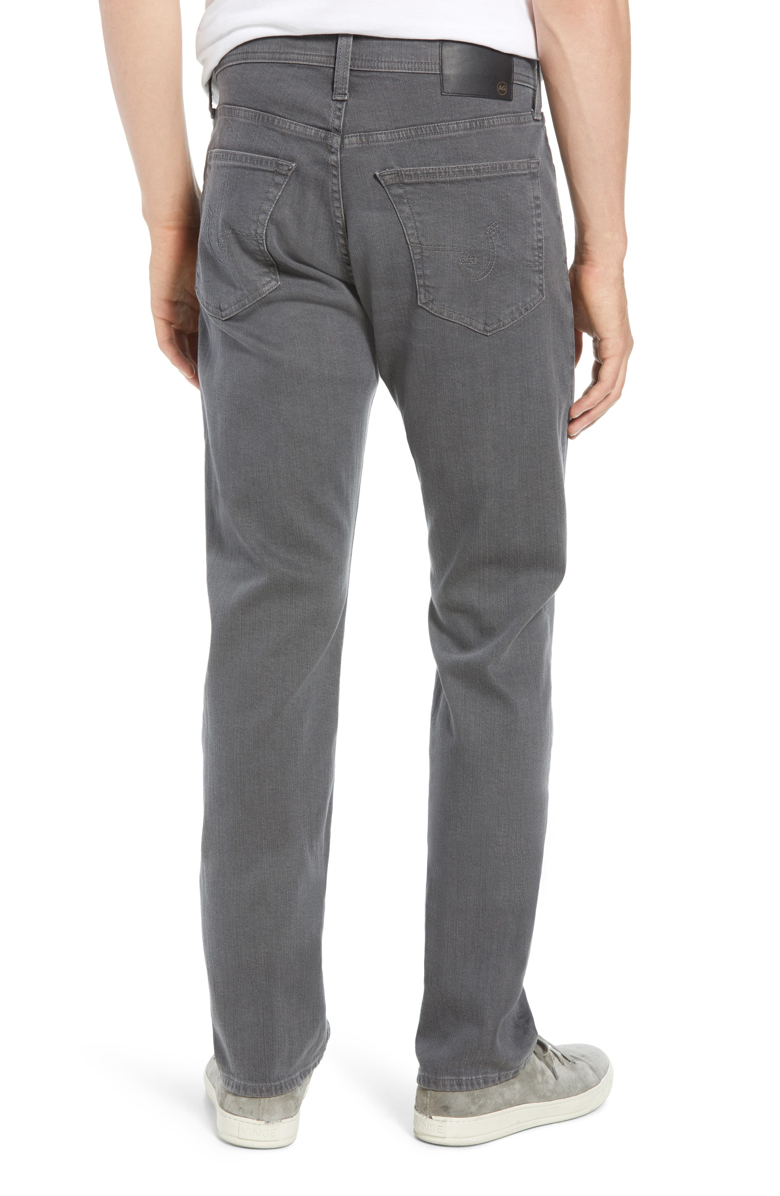 Everett Slim Straight Leg Jeans,                             Alternate thumbnail 2, color,                             PASSENGER