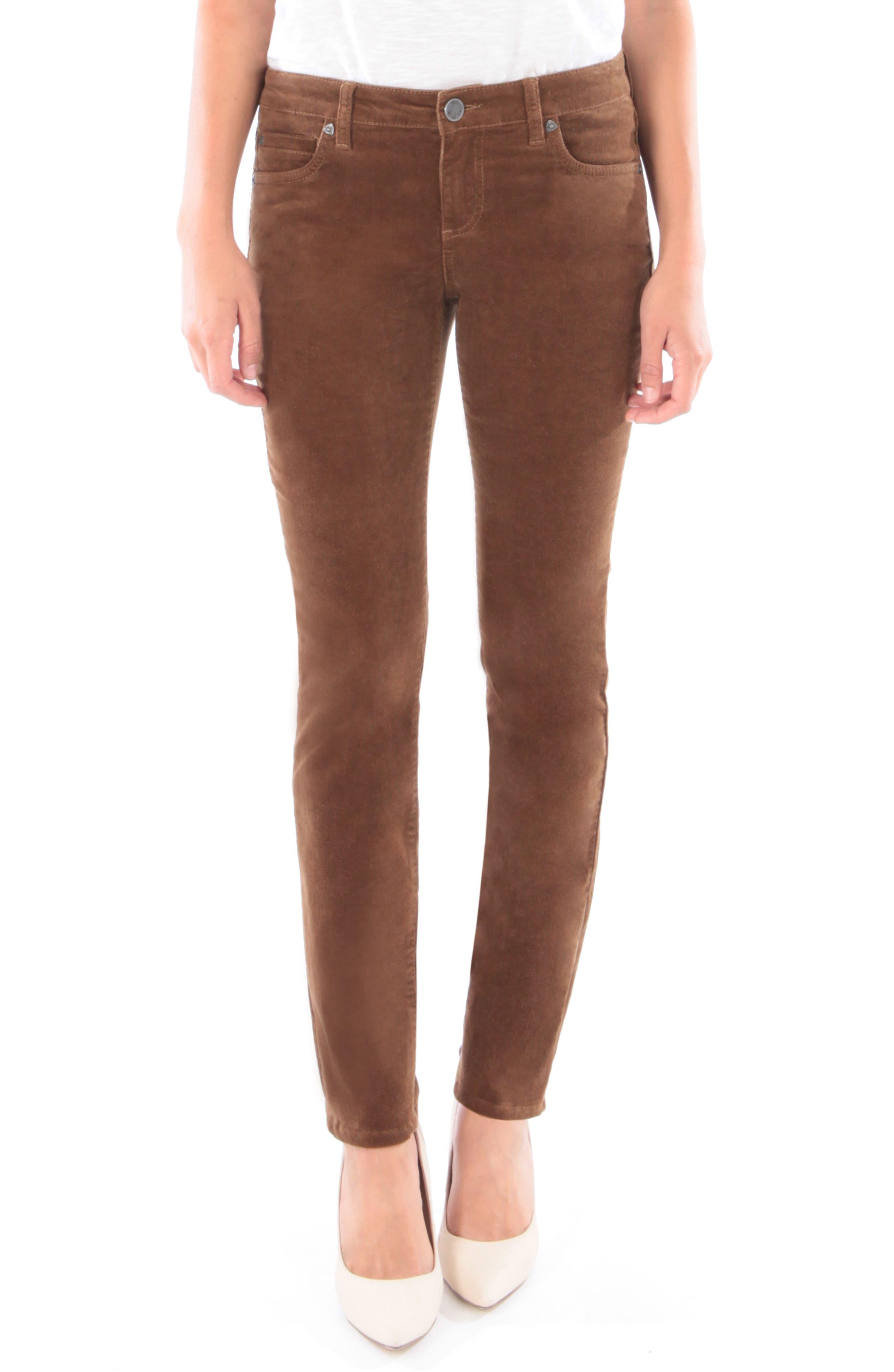 'Diana' Stretch Corduroy Skinny Pants,                             Main thumbnail 16, color,