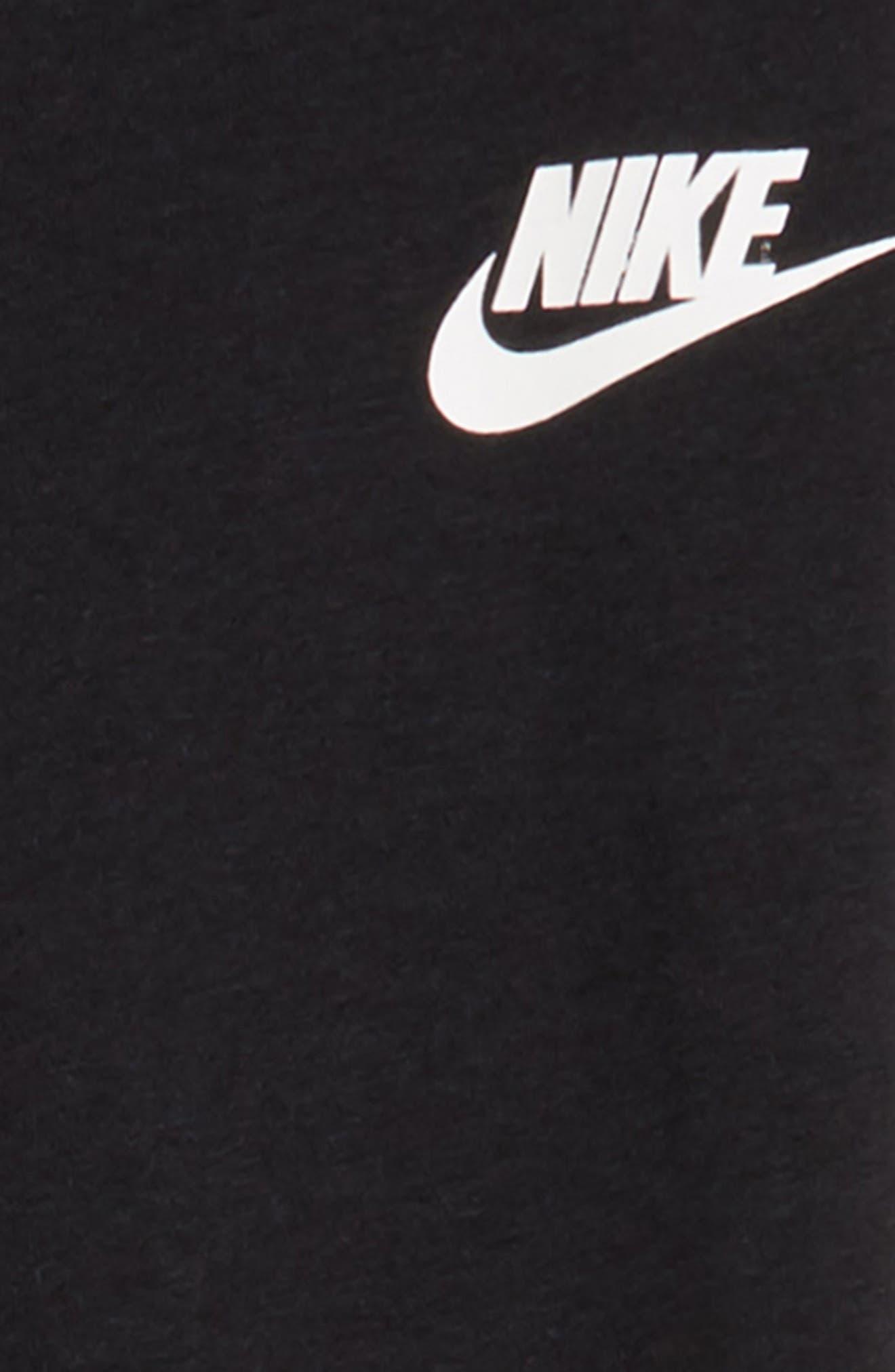Sportswear PE Pants,                             Alternate thumbnail 2, color,                             BLACK/ WHITE