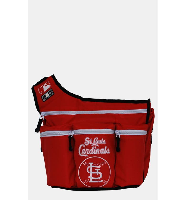 St Louis Cardinals Messenger Diaper Bag